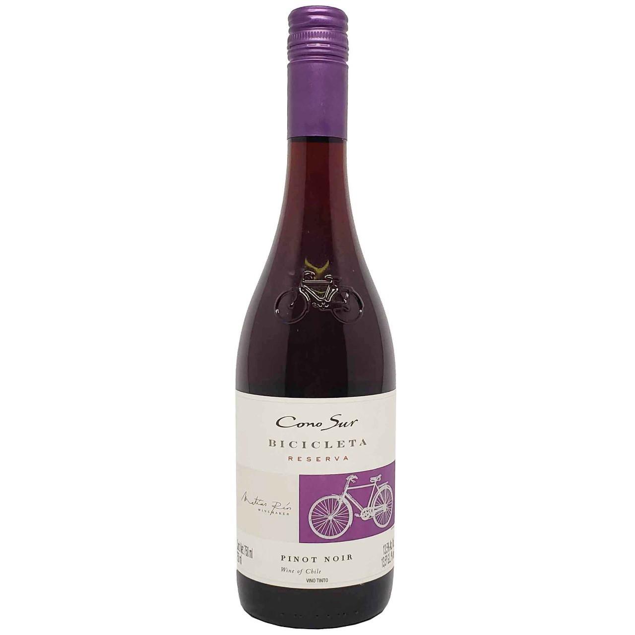 Vinho Tinto Bicicleta Reserva Pinot Noir Cono Sur - 750ml -