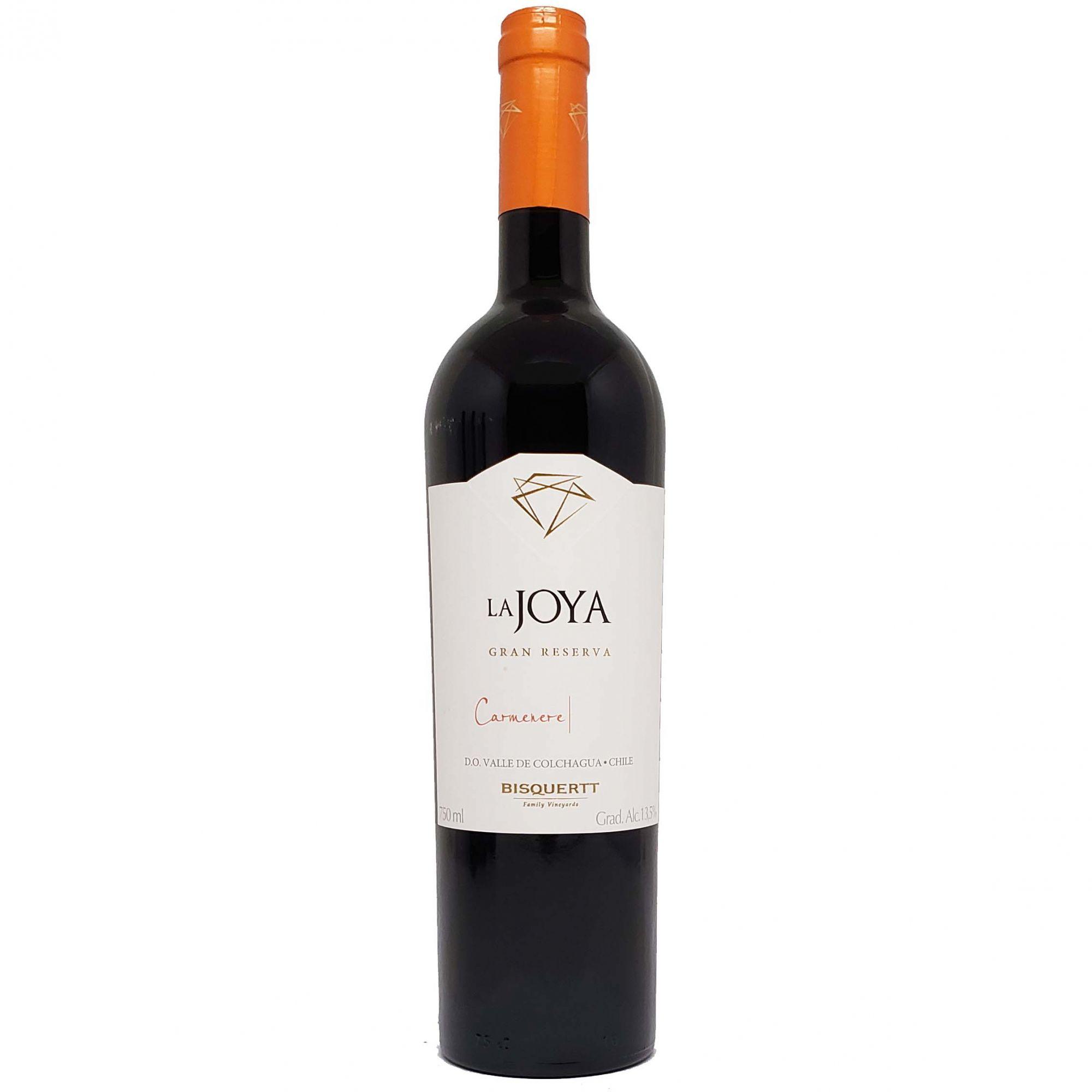 Vinho Tinto Bisquertt La Joya Gran Reserva Caménère - 750ml -