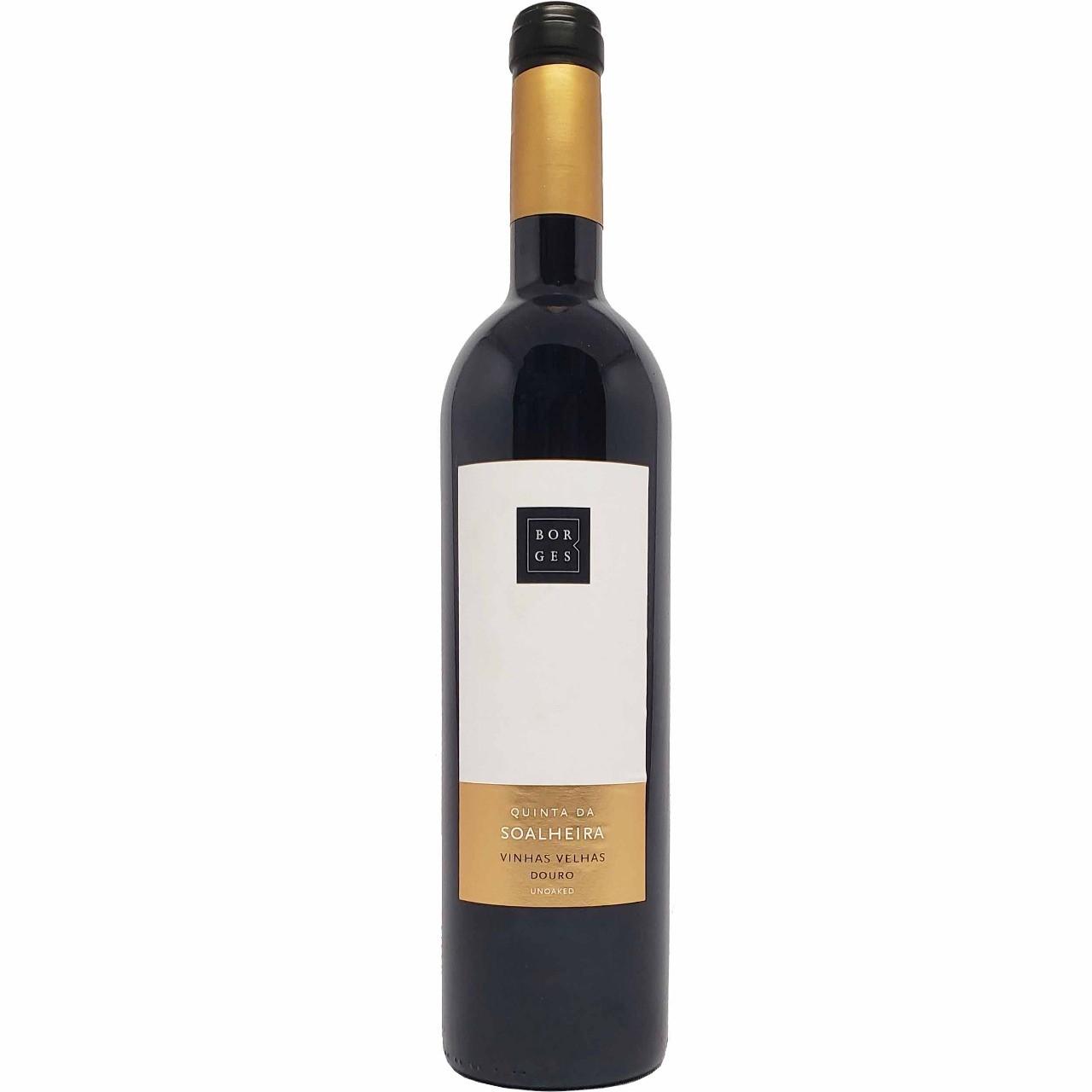 Vinho Tinto Borges Quinta da Soalheira Vinhas Velhas Douro - 750ml -