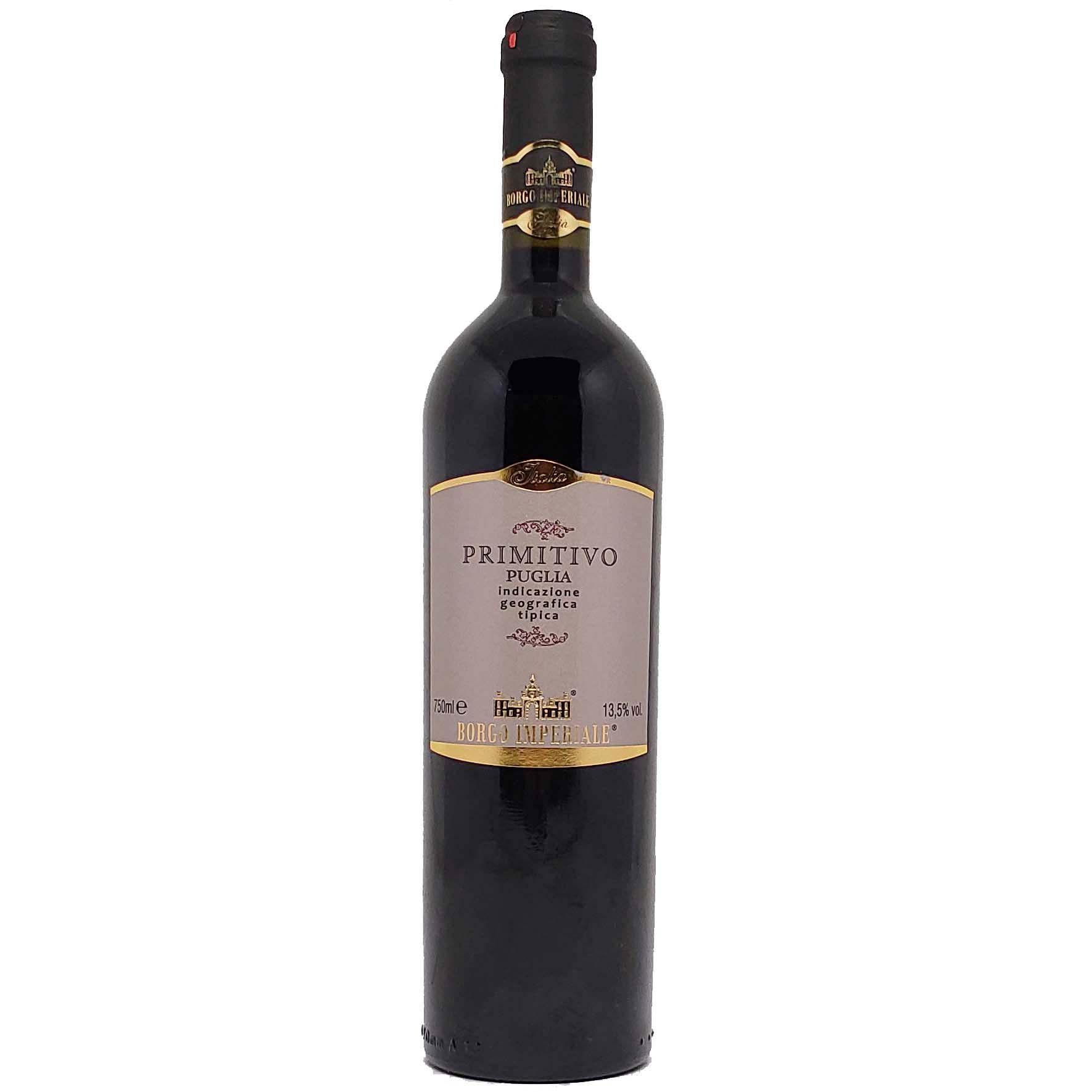 Vinho Tinto Borgo Imperiale Primitivo Puglia - 750ml -