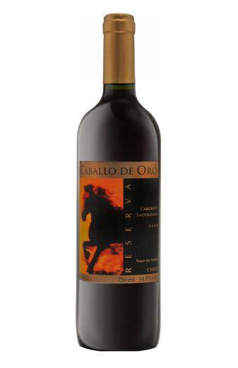 Vinho Tinto Caballo de Oro Reserva Cabernet Sauvignon - 750ml -