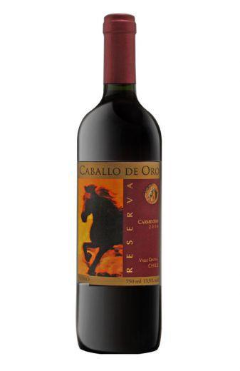 Vinho Tinto Caballo de Oro Reserva Carménère - 750ml -