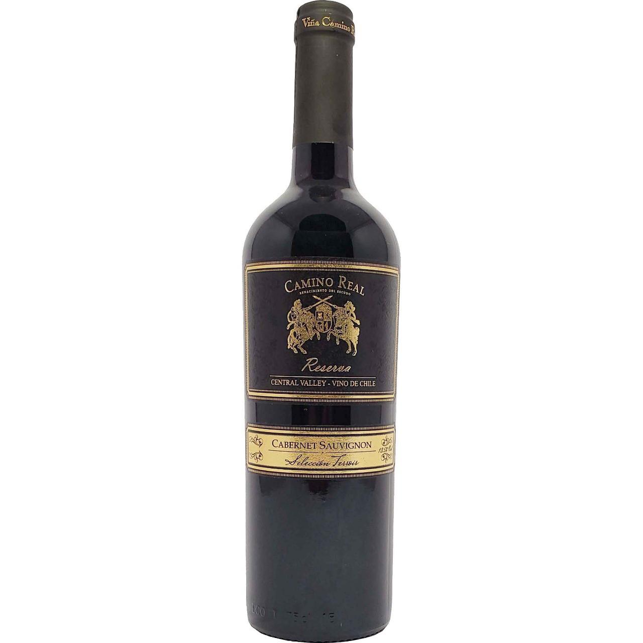 Vinho Tinto Camino Real Reserva Cabernet Sauvignon - 750ml -