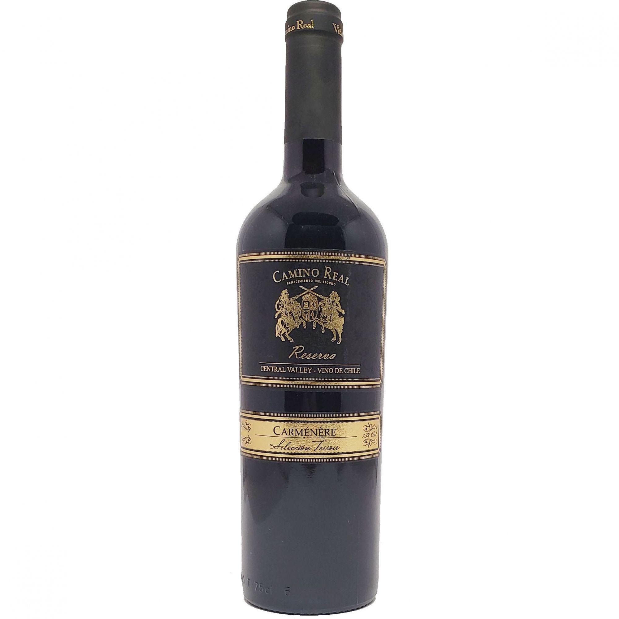 Vinho Tinto Camino Real Reserva  Carménère  - 750ml -