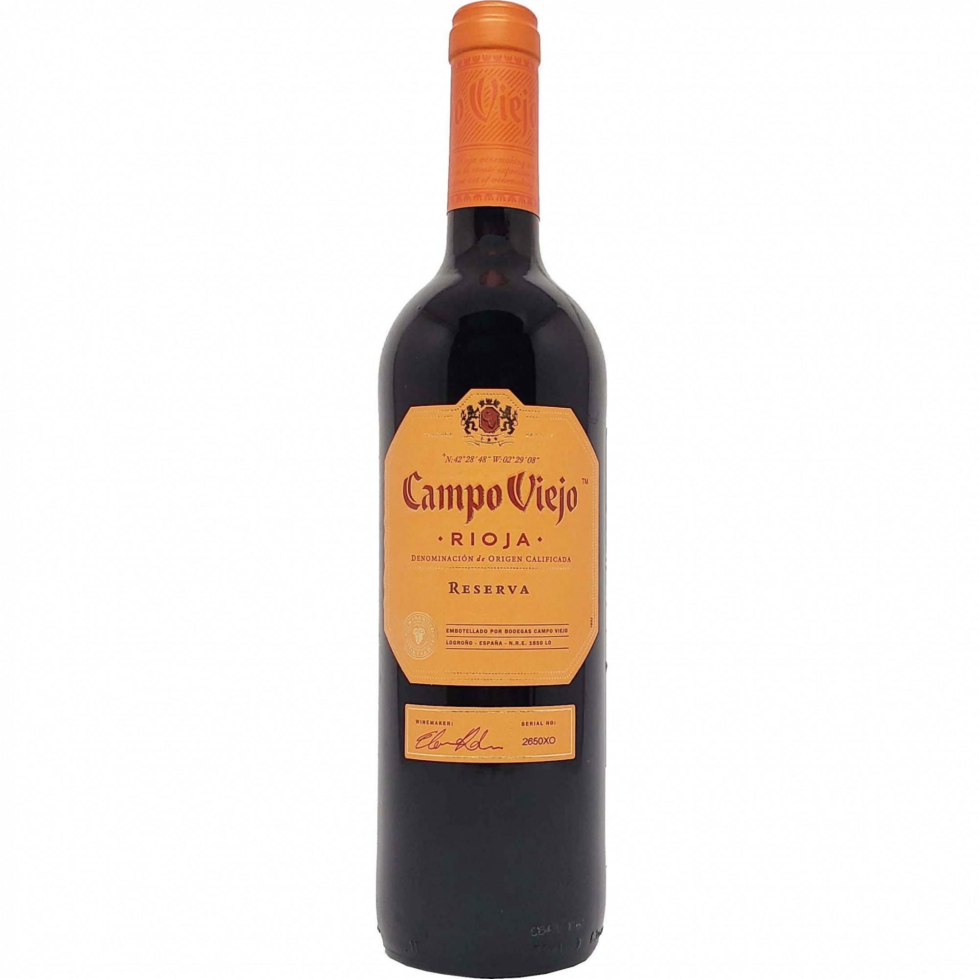 Vinho Tinto Campo Viejo Reserva Rioja - 750ml -