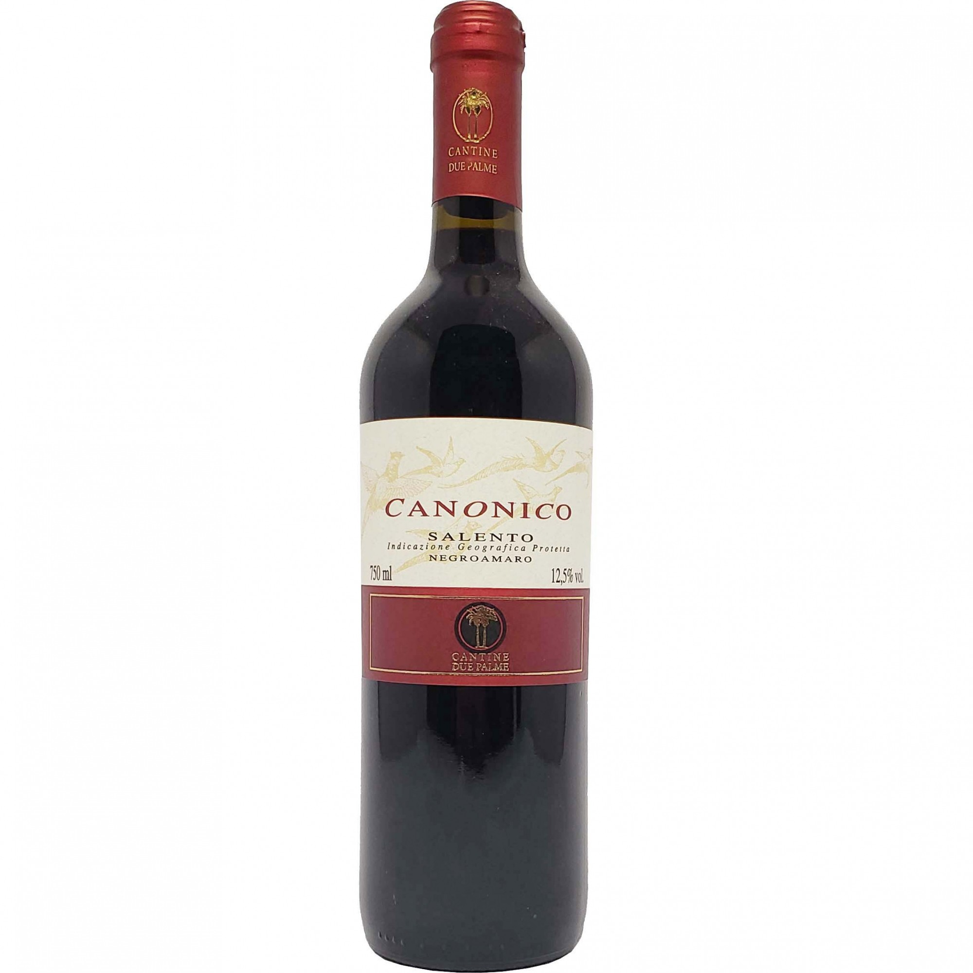 Vinho Tinto Canonico Negroamaro Salento IGP - 750ml -