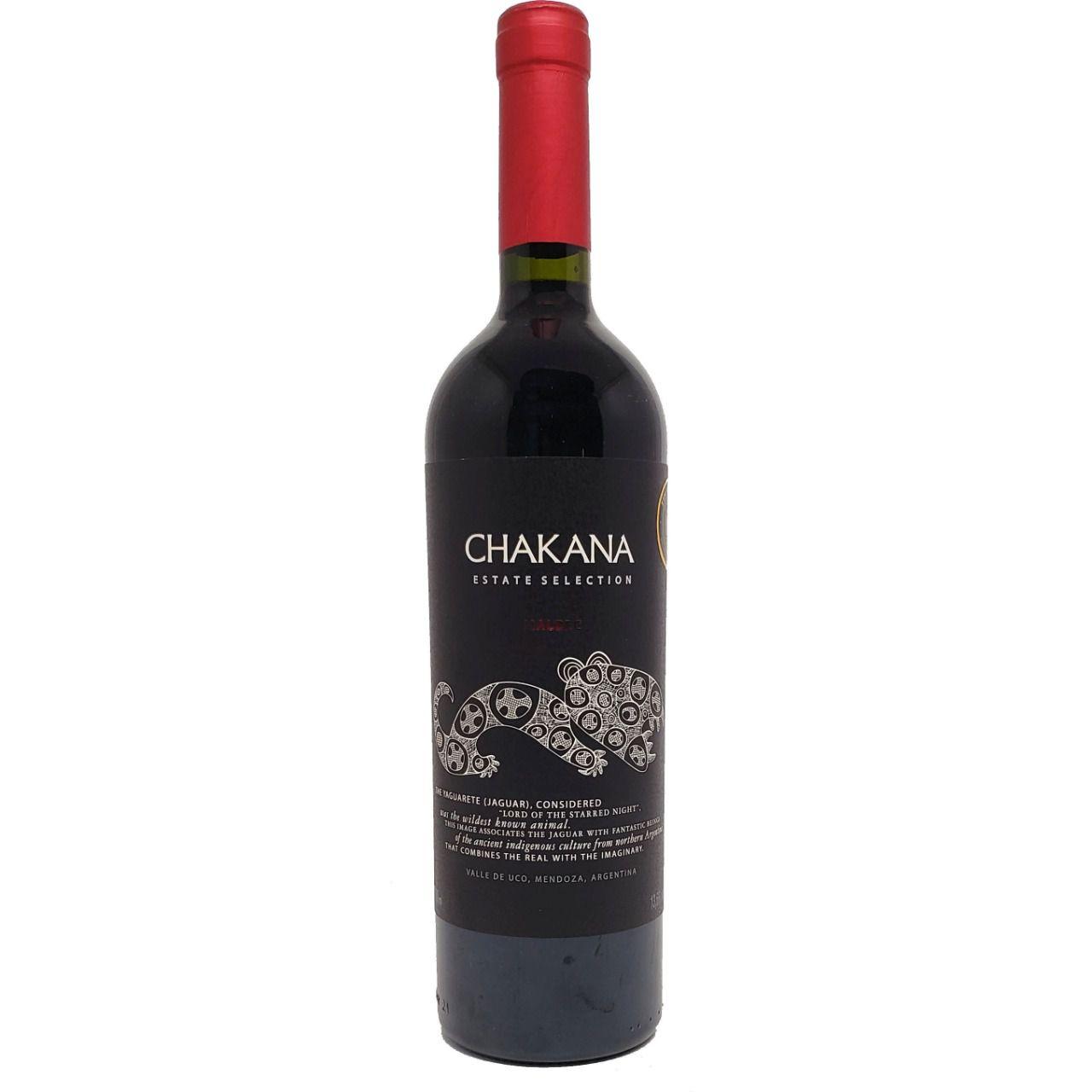 Vinho Tinto Chakana Estate Selection Malbec - 750ml -