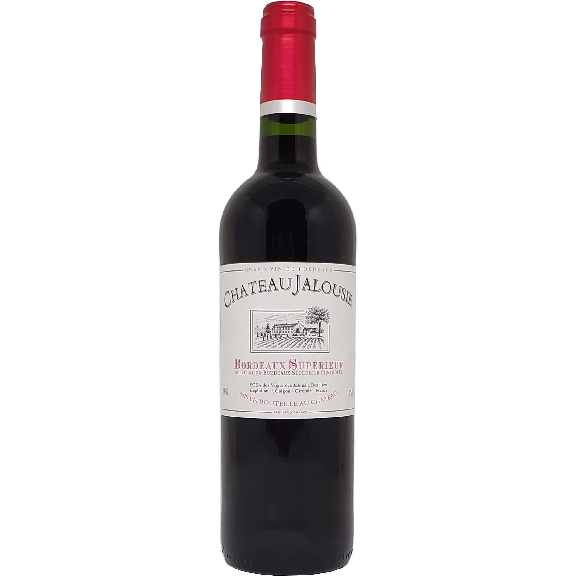 Vinho Tinto Chateau Jalousie Bordeaux Supérieur - 750ml -