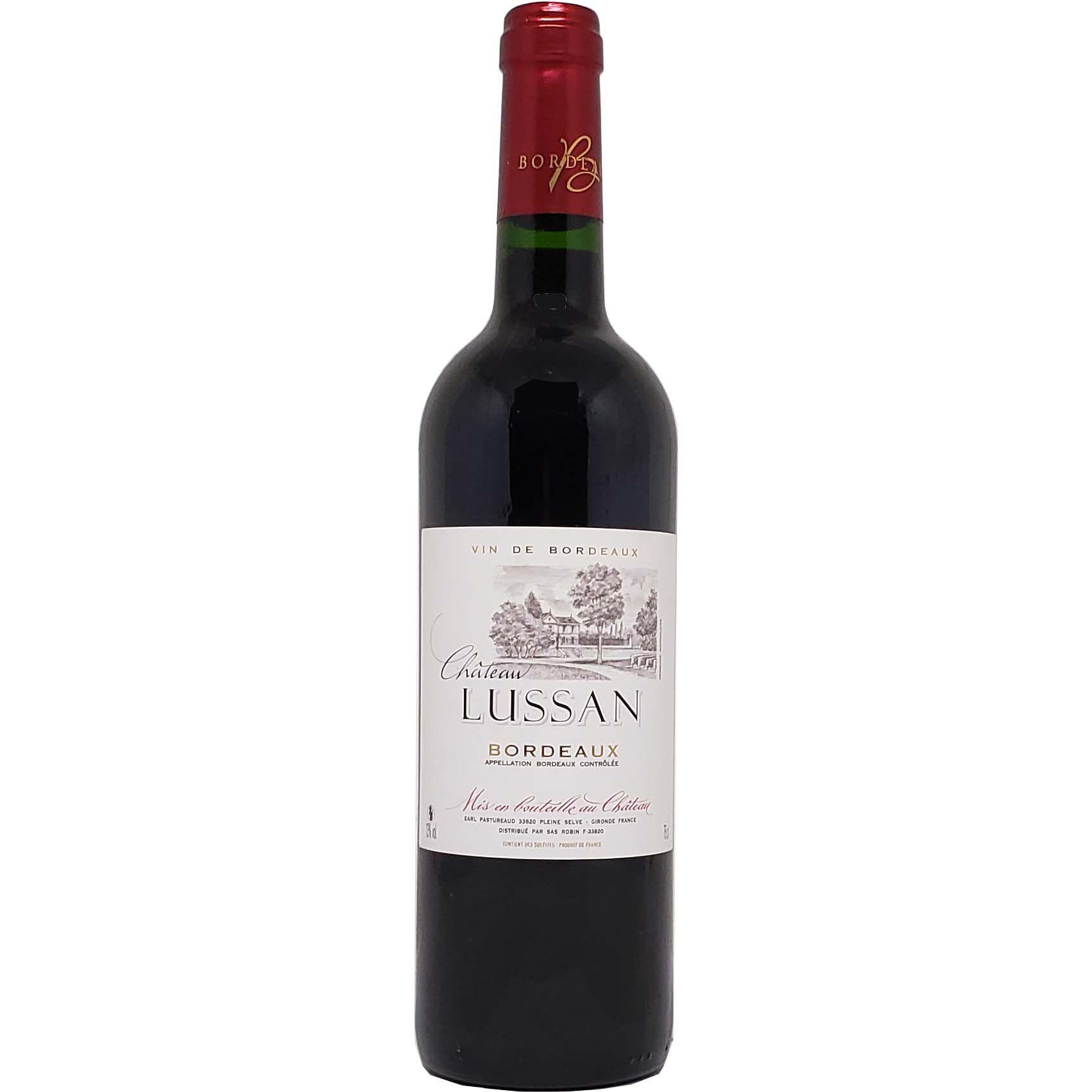 Vinho Tinto Chateau Lussan Bordeax - 750ml -