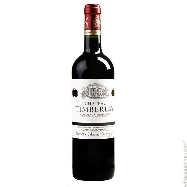 Vinho Tinto Chateau Timberlay Bordeaux Superieur 750 ml
