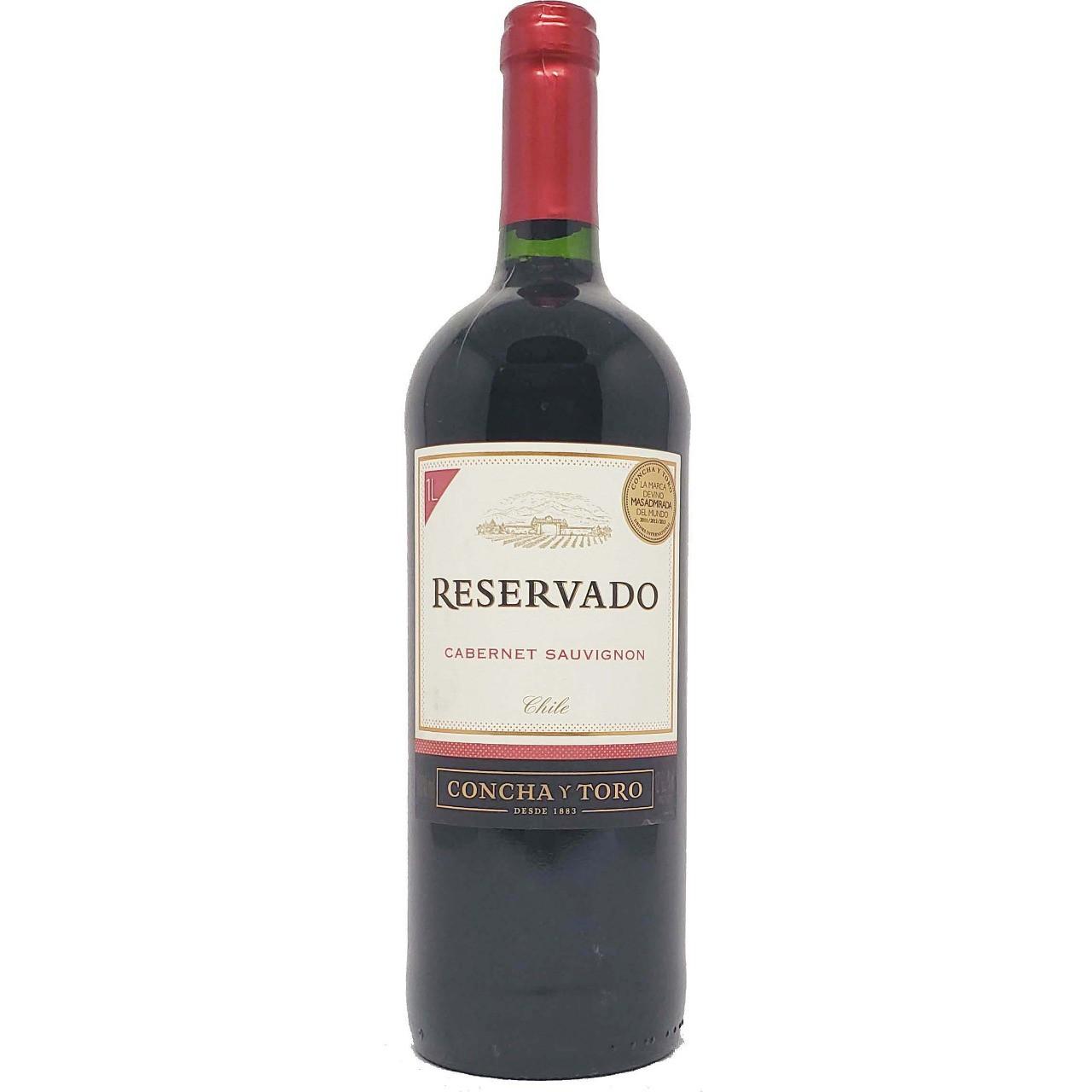 Vinho Tinto Concha Y Toro Reservado Cabernet Sauvignon - 1L -