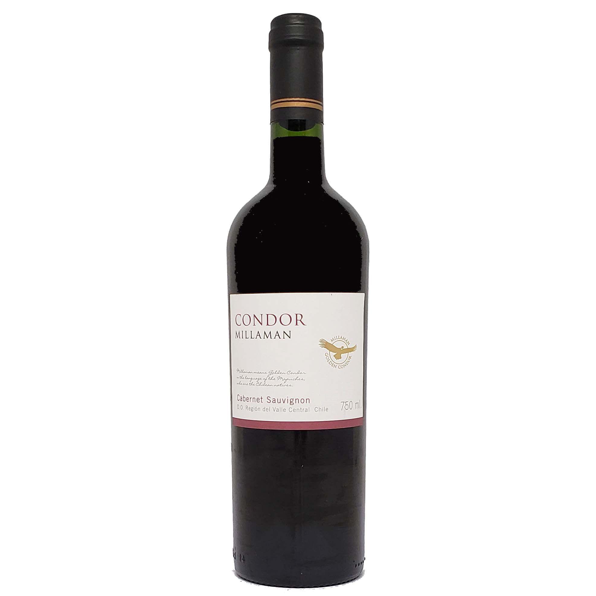 Vinho Tinto Condor Millaman Cabernet Sauvignon - 750ml -