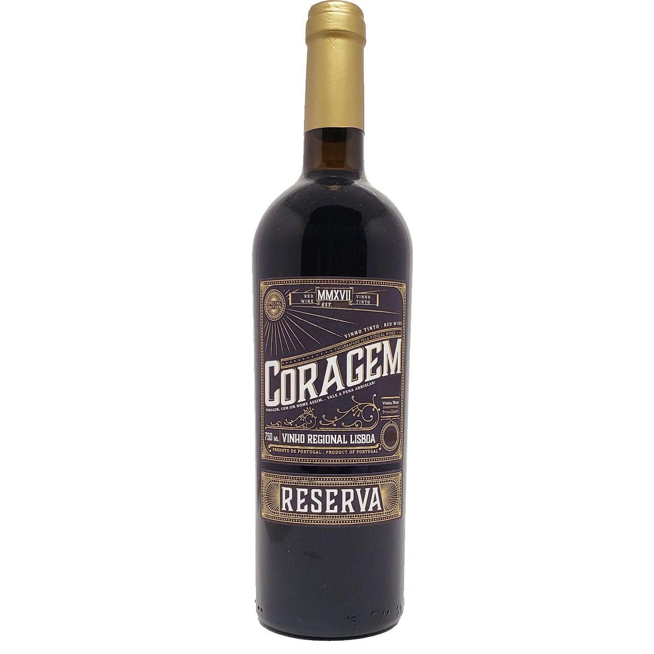 Vinho Tinto Coragem Reserva - 750ml -