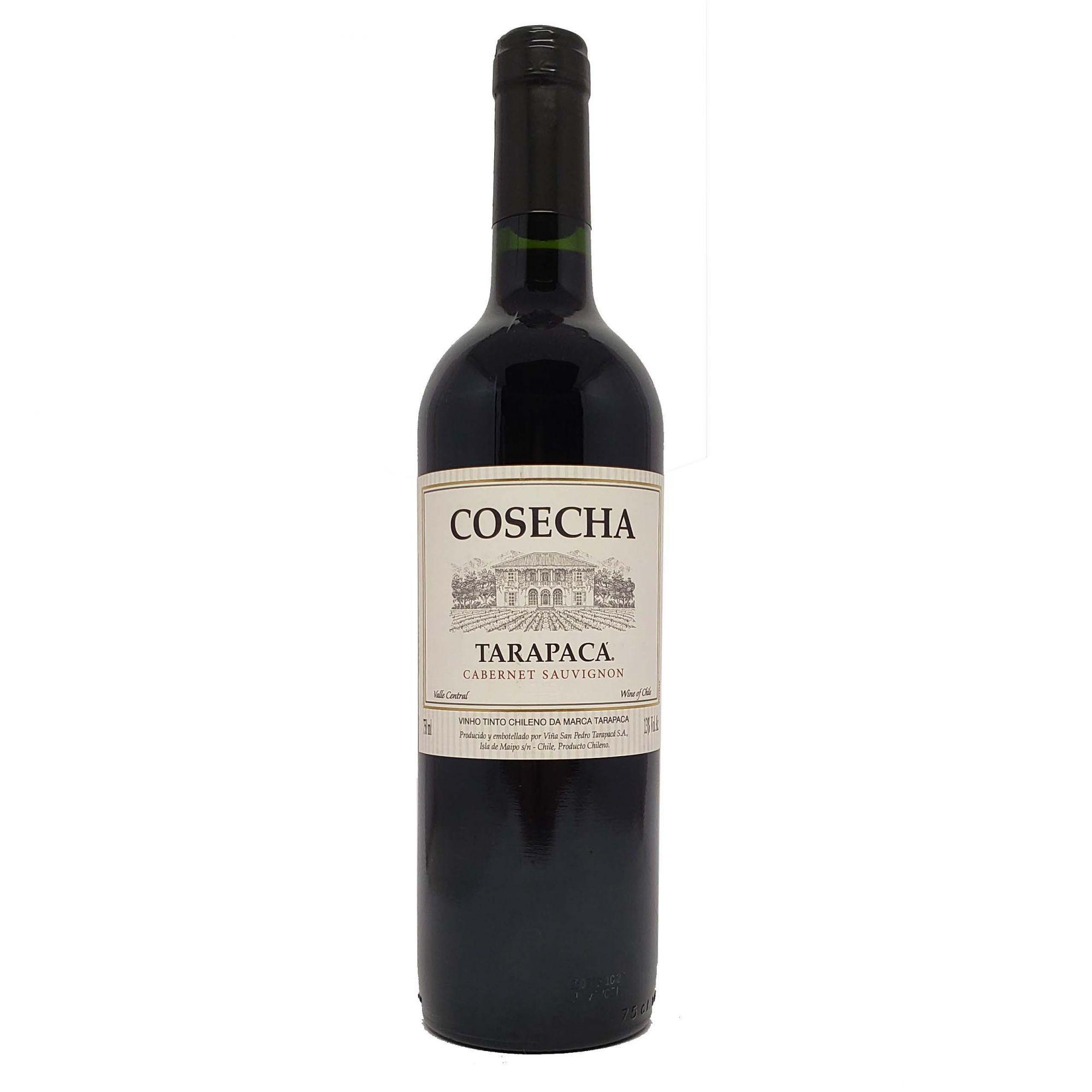Vinho Tinto Cosecha Tarapacá Cabernet Sauvignon - 750ml -