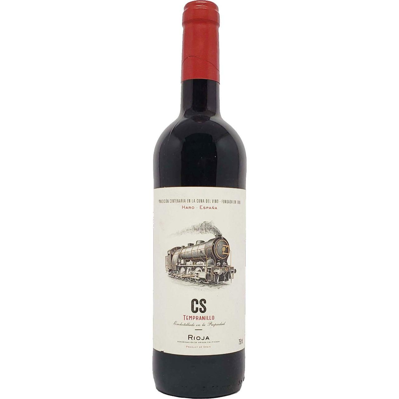 Vinho Tinto CS Tempranillo Rioja - 750ml -