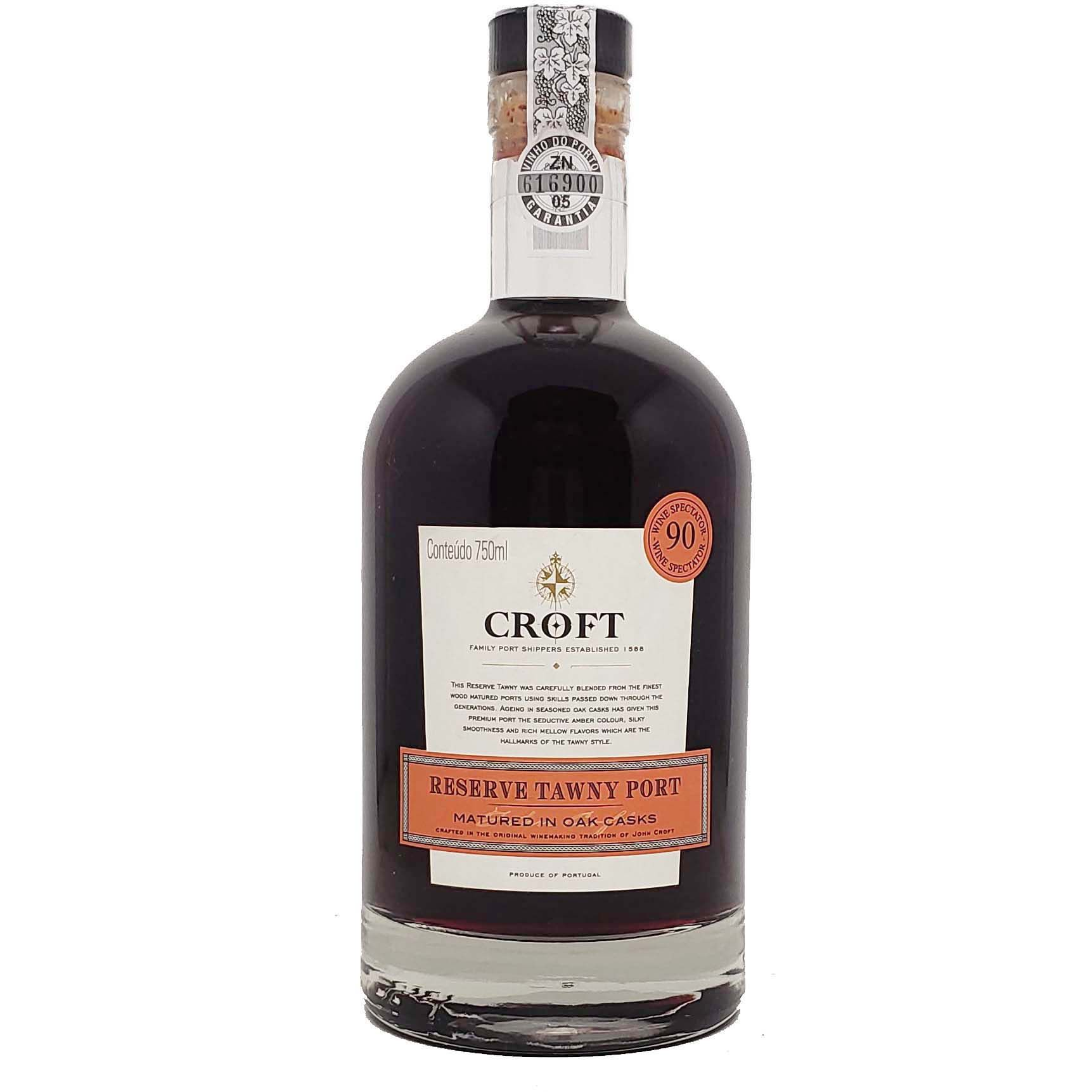Vinho Tinto do Porto Croft Reserve Tawny - 750ml -