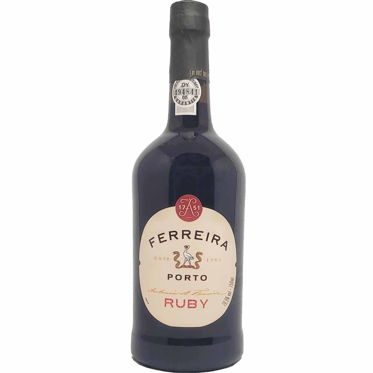 Vinho Tinto do Porto Ferreira Ruby - 750ml -