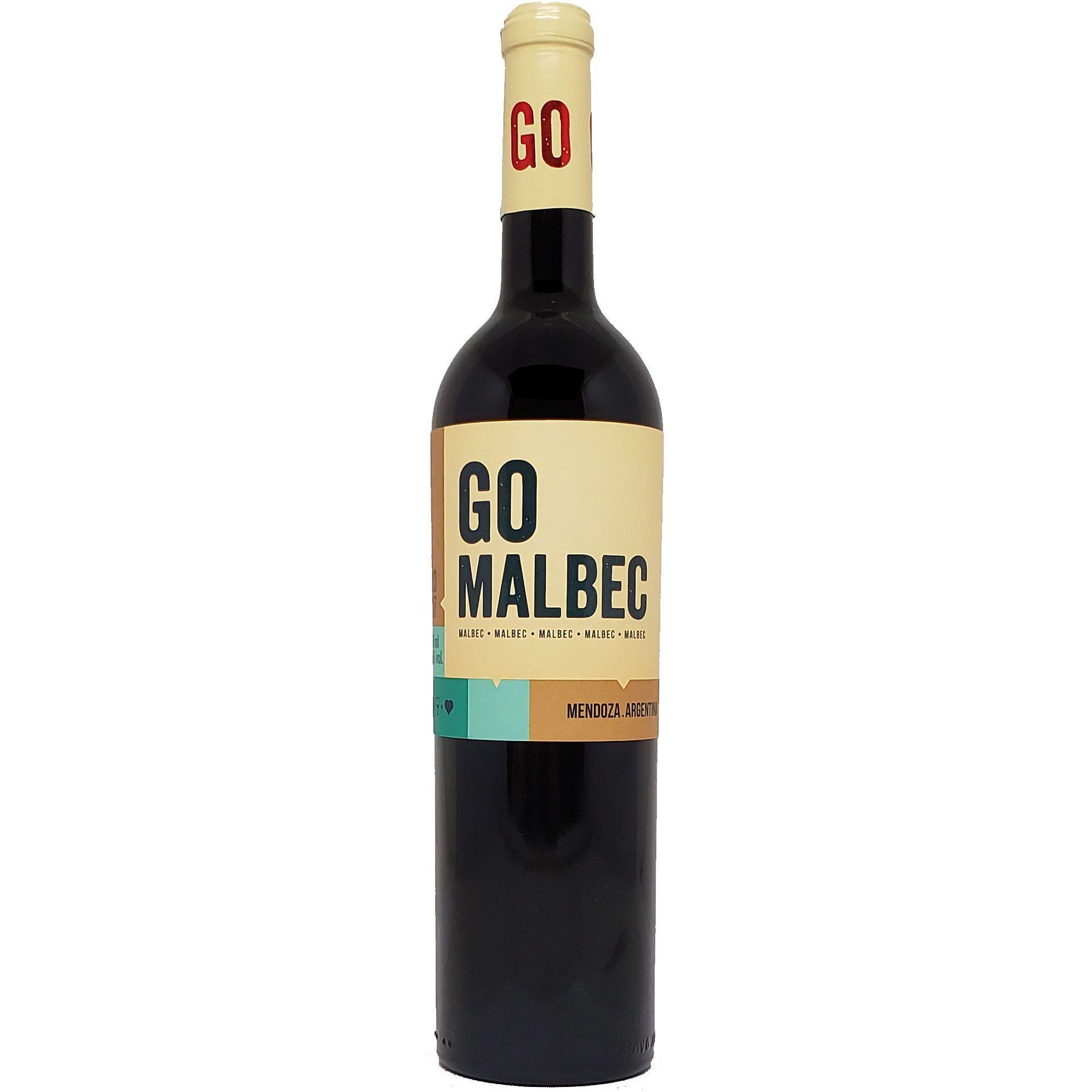 Vinho Tinto Go Malbec - 750ml -