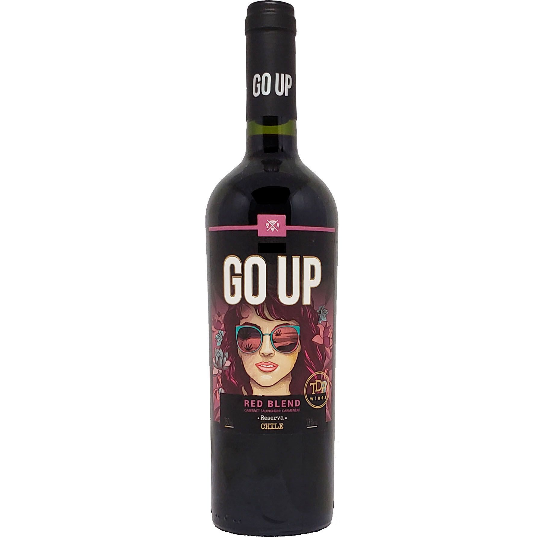 Vinho Tinto Go Up Red Blend Cabernet Sauvignon - Camenere Reserva - 750ml -