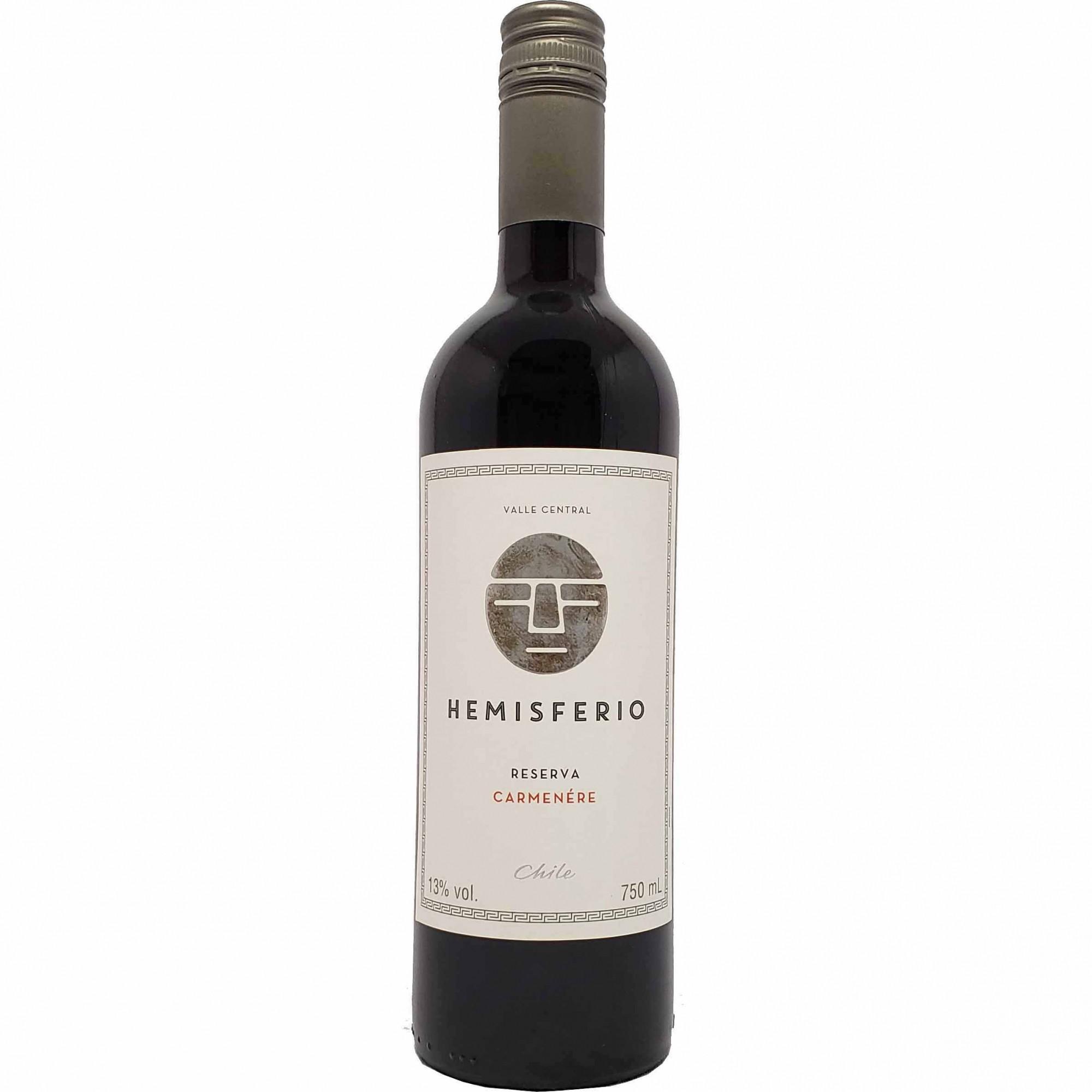 Vinho Tinto Hemisferio Reserva Carménère - 750ml -