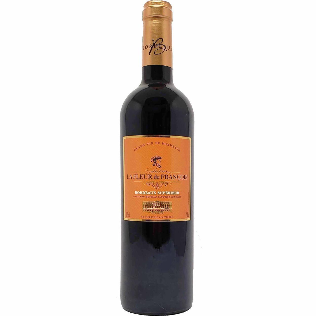 Vinho Tinto La Fleur de François Bordeaux Supérieur - 750ml -