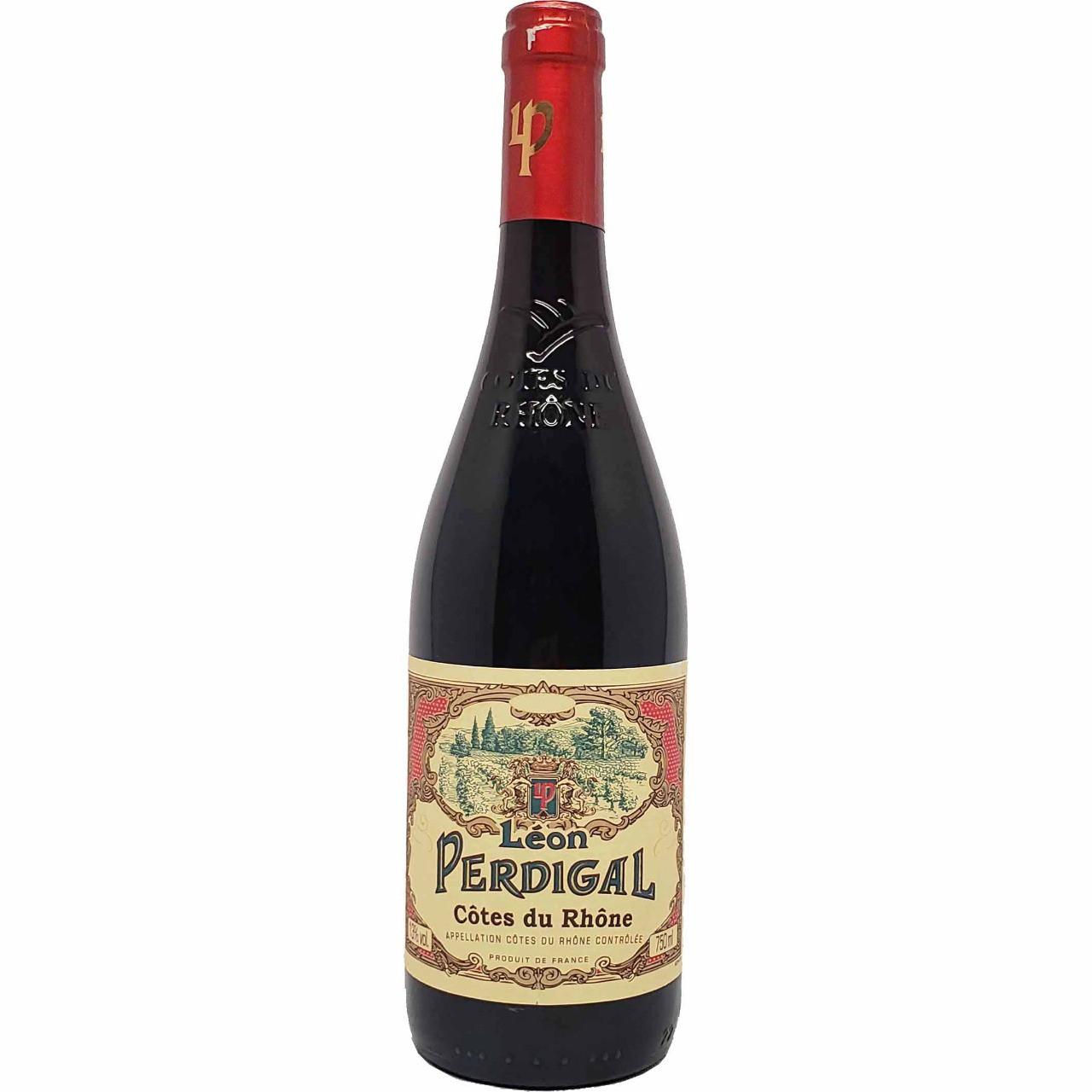 Vinho Tinto Léon Perdigal Côtes-du-Rhône - 750ml -
