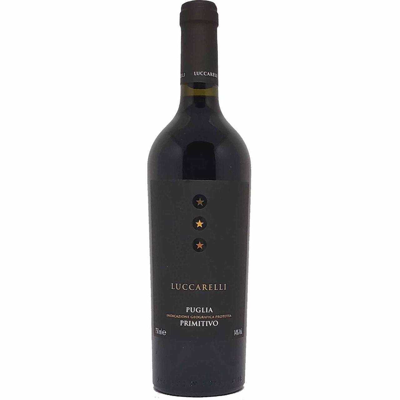 Vinho Tinto Luccarelli Primitivo Puglia - 750ml -