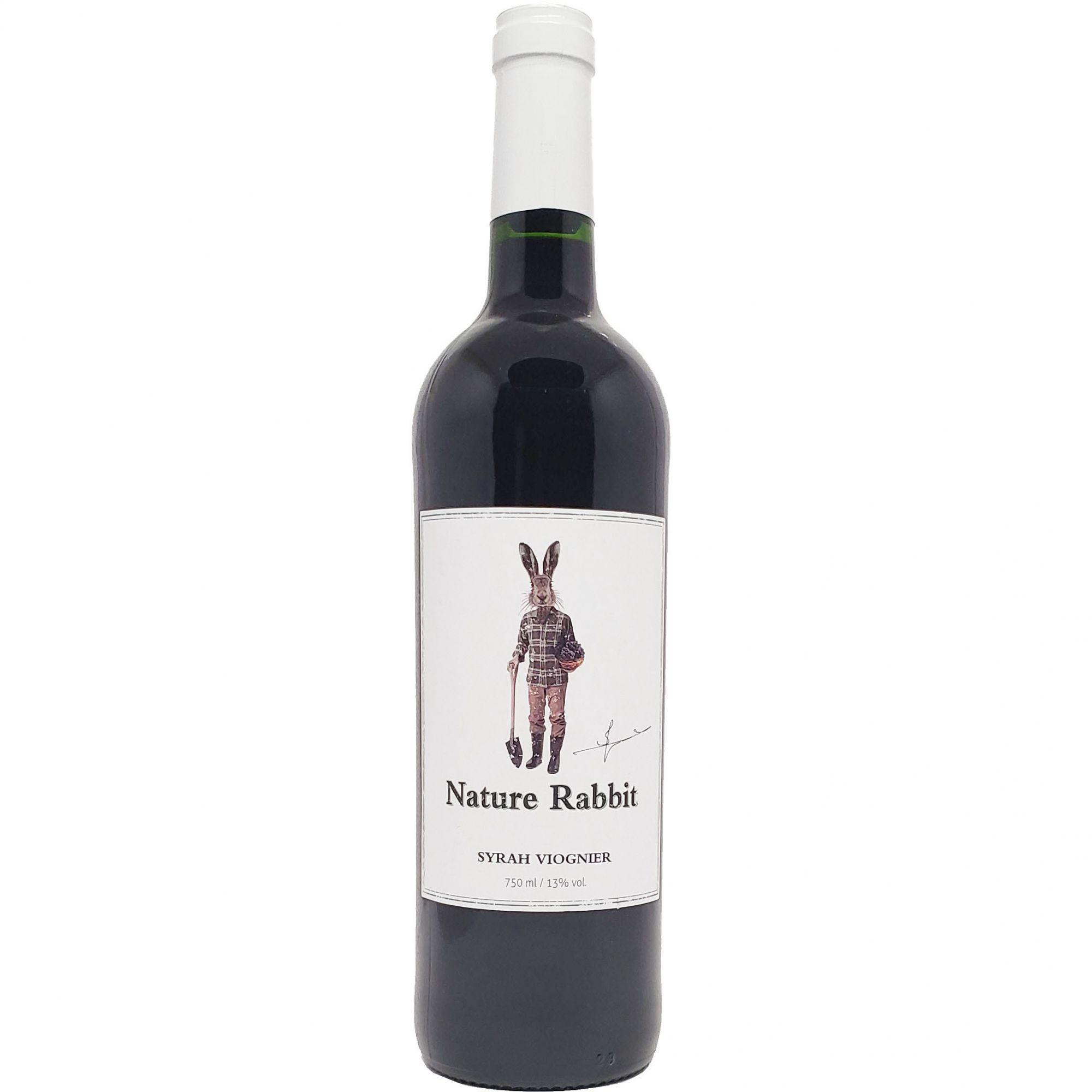 Vinho Tinto Nature Rabbit Syrah Viognier - 750ml -