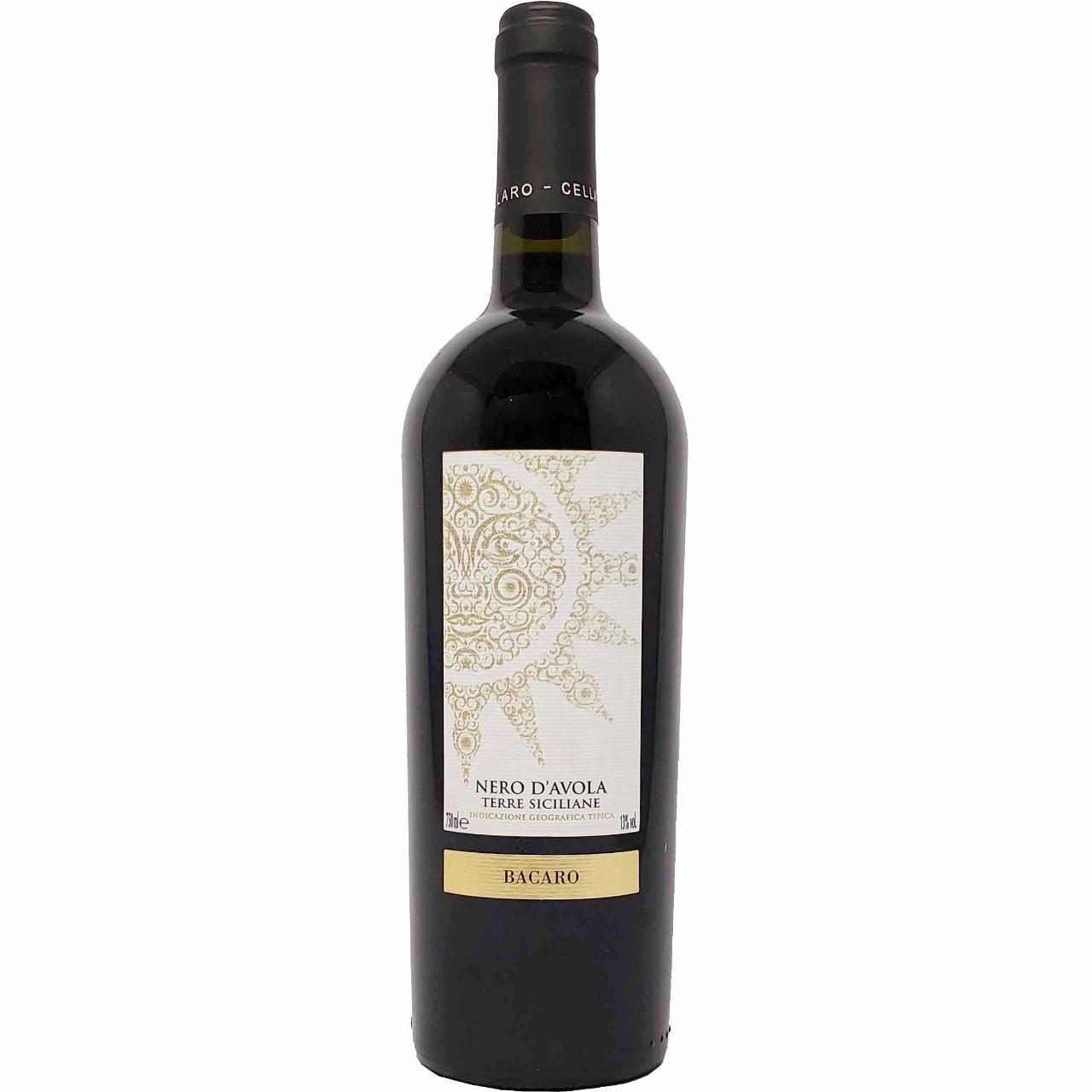 Vinho Tinto Nero D´Avola Terre Siciliane Bacaro - 750ml -