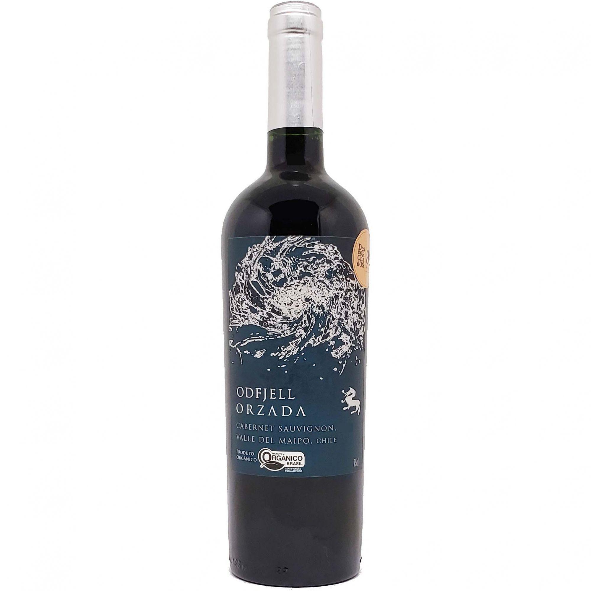 Vinho Tinto Odfjell Orzada Cabernet Sauvignon - 750ml -