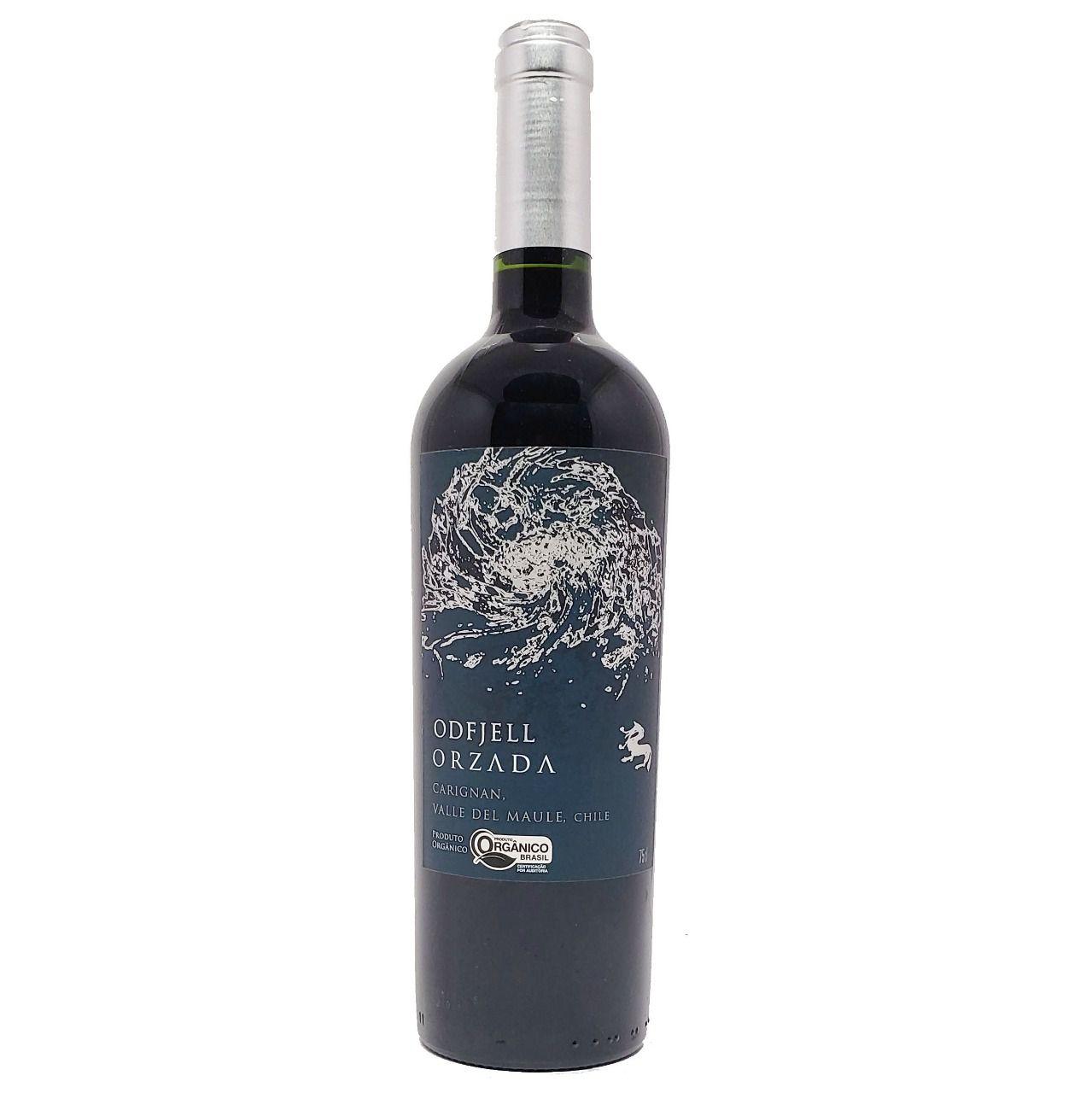 Vinho Tinto Odfjell Orzada Carignan Orgânico - 750ml -