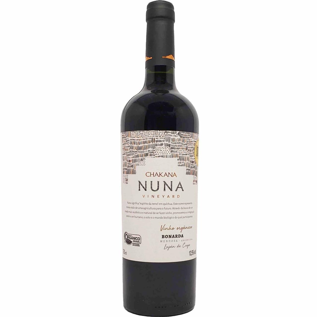 Vinho Tinto Orgânico Chakana Nuna Vineyard Bonarda - 750ml -