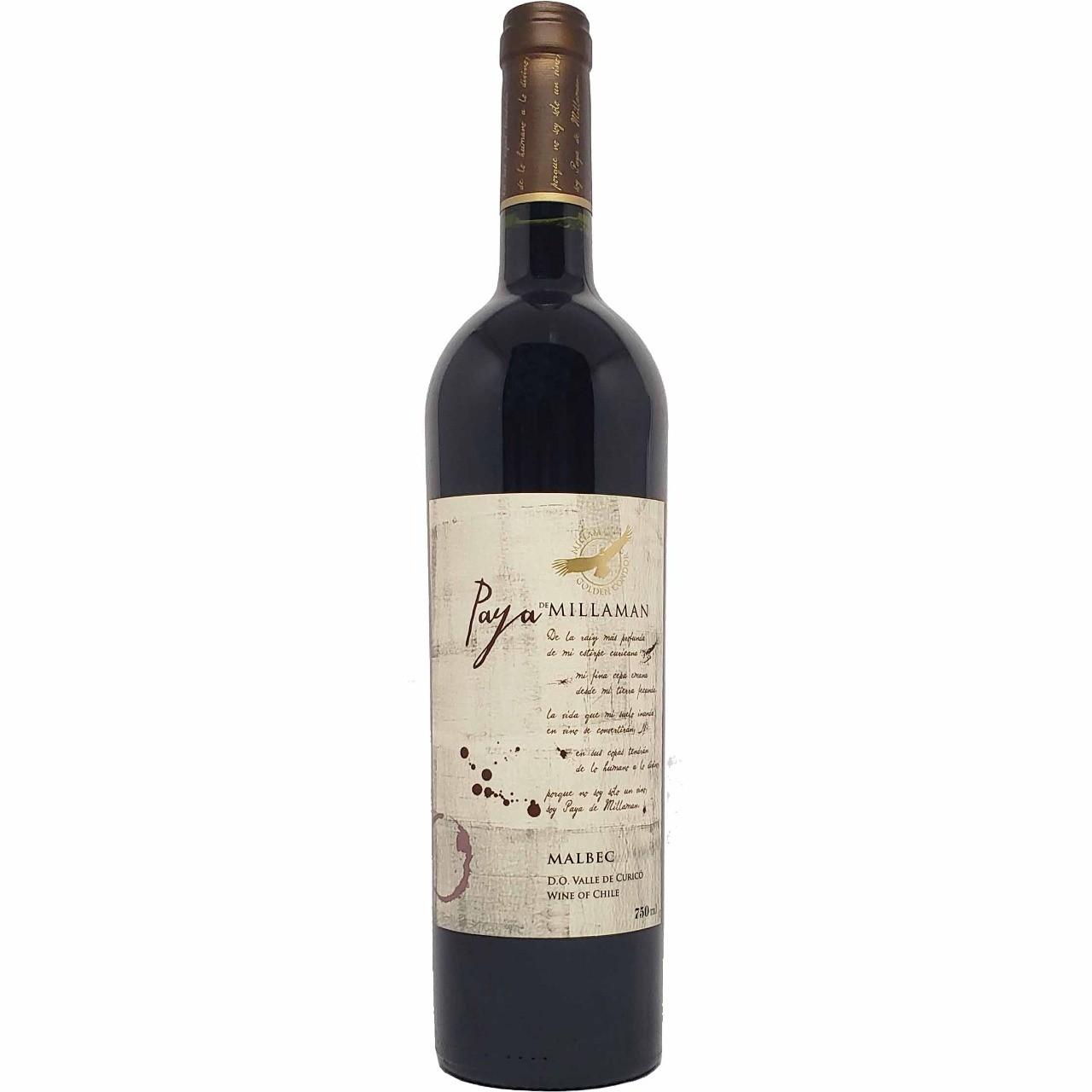 Vinho Tinto Paya Millaman Malbec - 750ml -