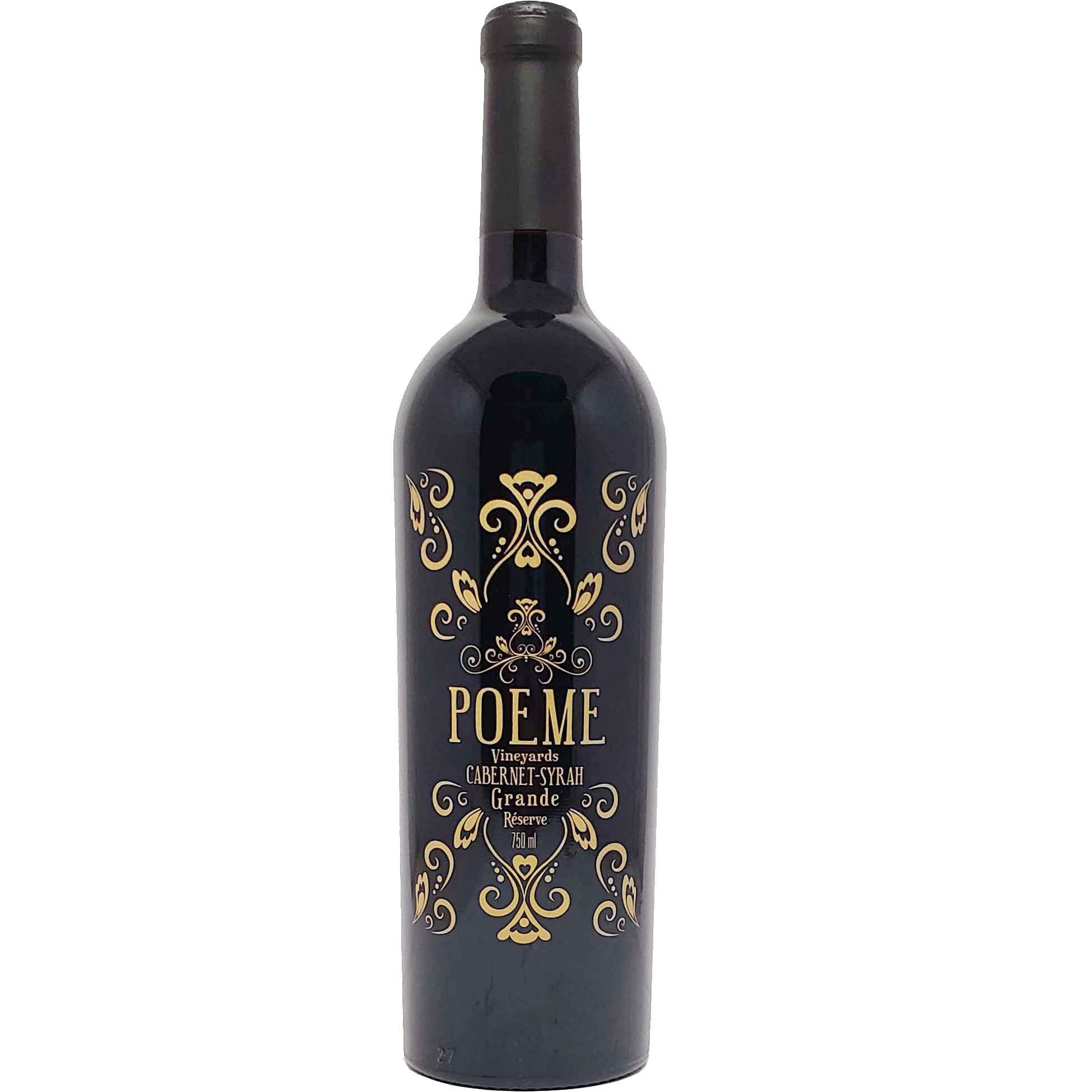 Vinho Tinto Poeme Grande Reserve Cabernet-Syrah - 750ml -