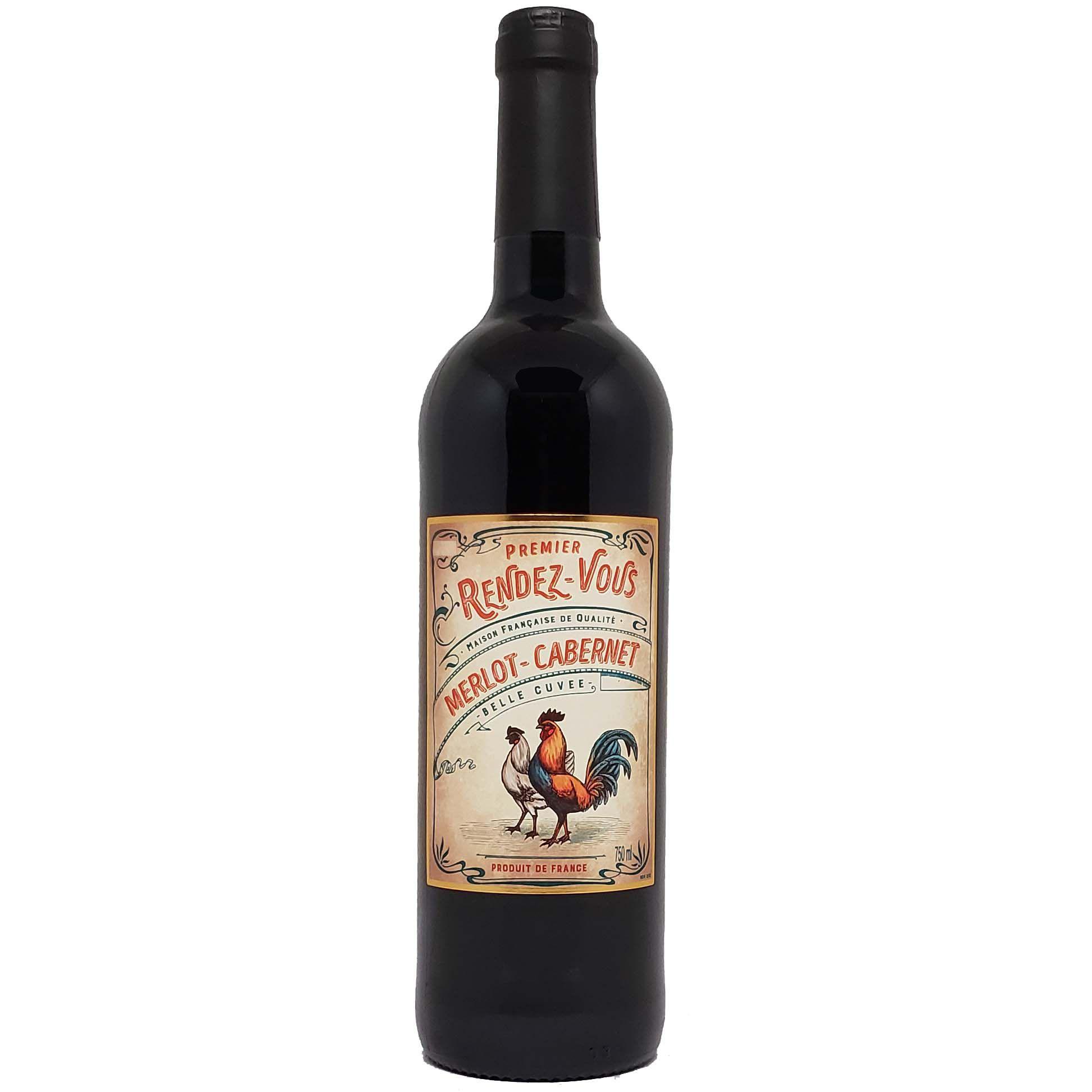 Vinho Tinto Premier Rendez Vous Merlot Cabernet Sauvignon - 750ml -