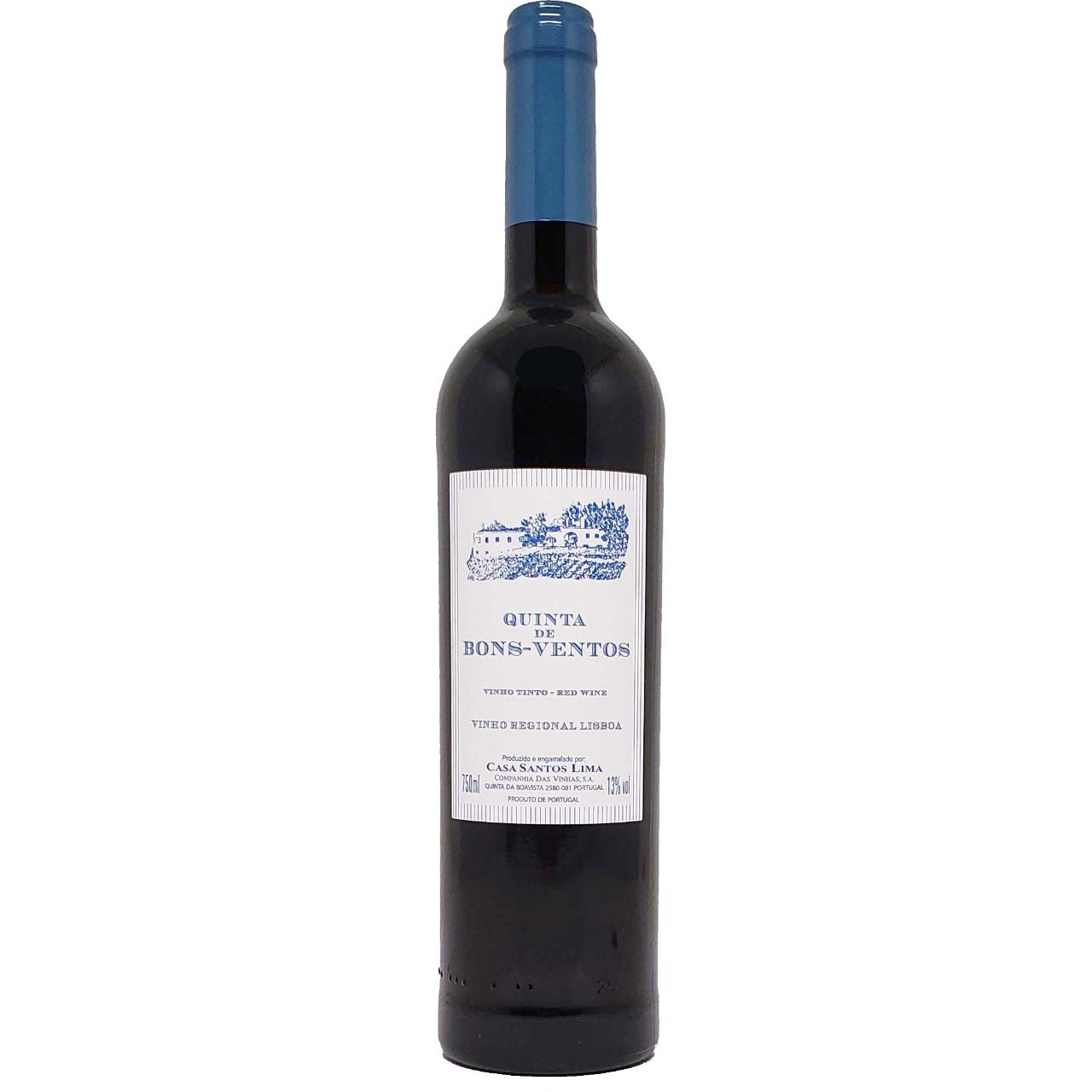 Vinho Tinto Quinta de Bons-Ventos - 750ml -
