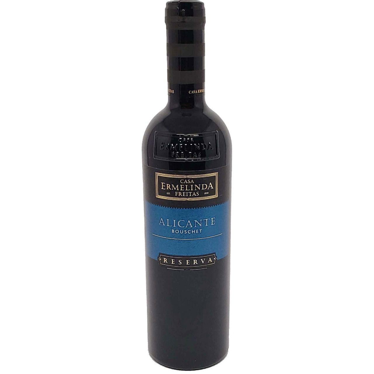 Vinho Tinto Reserva Alicante Bouschet Casa Ermelinda Freitas - 750ml -