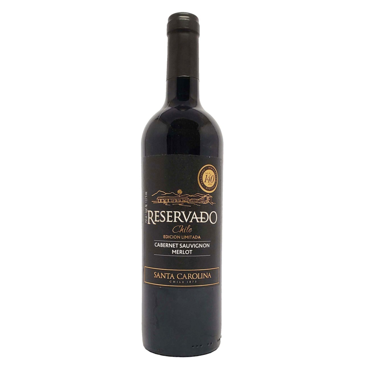 Vinho Tinto Reservado Edición Limitada Cabernet Sauvignon Merlot Santa Carolina  - 750ml -