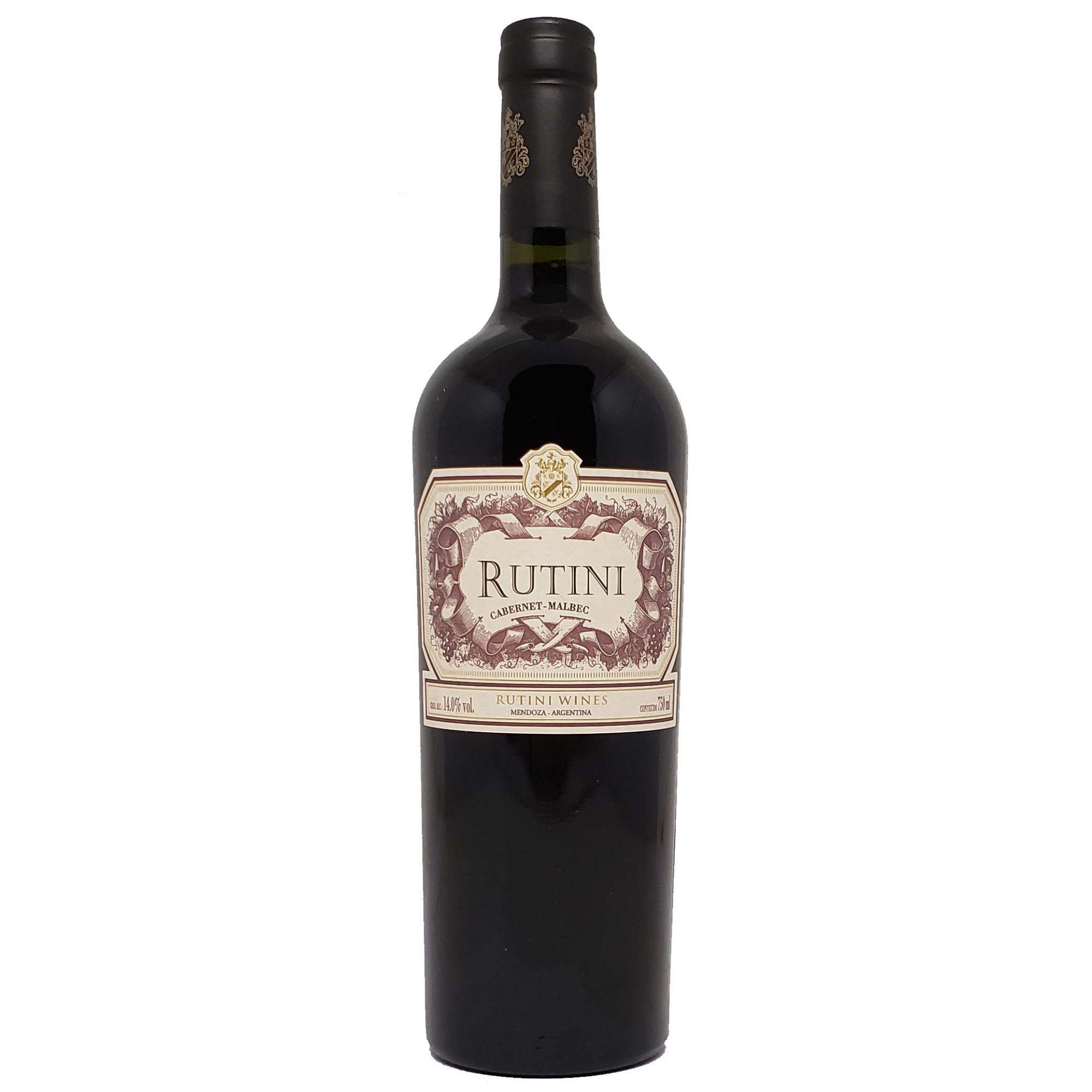 Vinho Tinto Rutini Cabernet Malbec - 750ml -