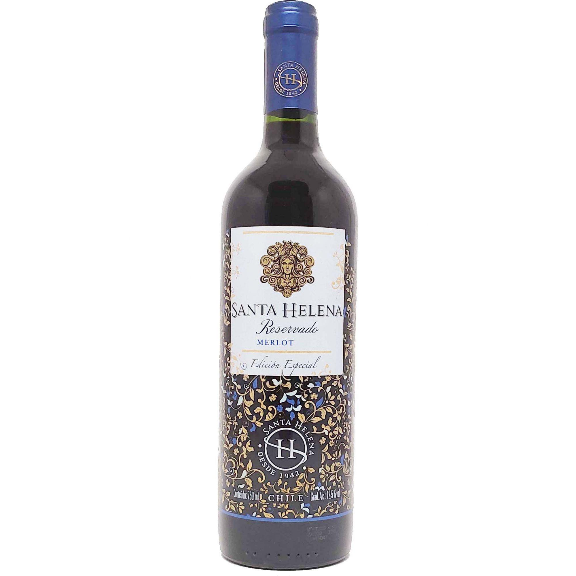 Vinho Tinto Santa Helena Merlot Reservado - 750ml -