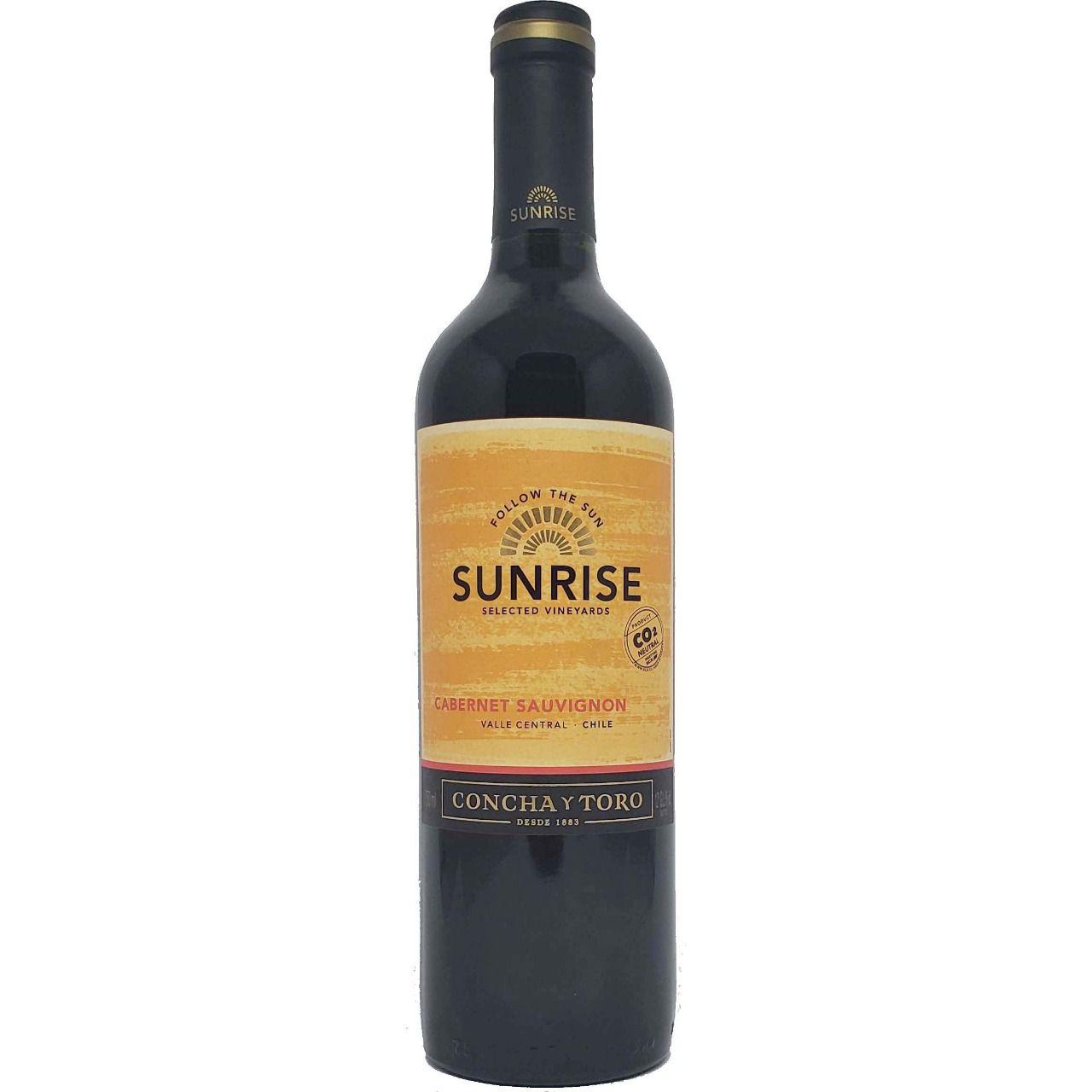 Vinho Tinto Sunrise Selected Vineyards Concha y Toro Cabernet Sauvignon  - 750ml -