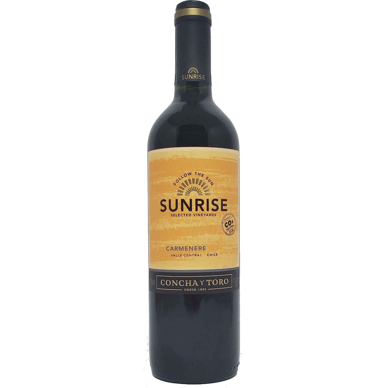 Vinho Tinto Sunrise Selected Vineyards Concha y Toro Carménère  - 750ml -