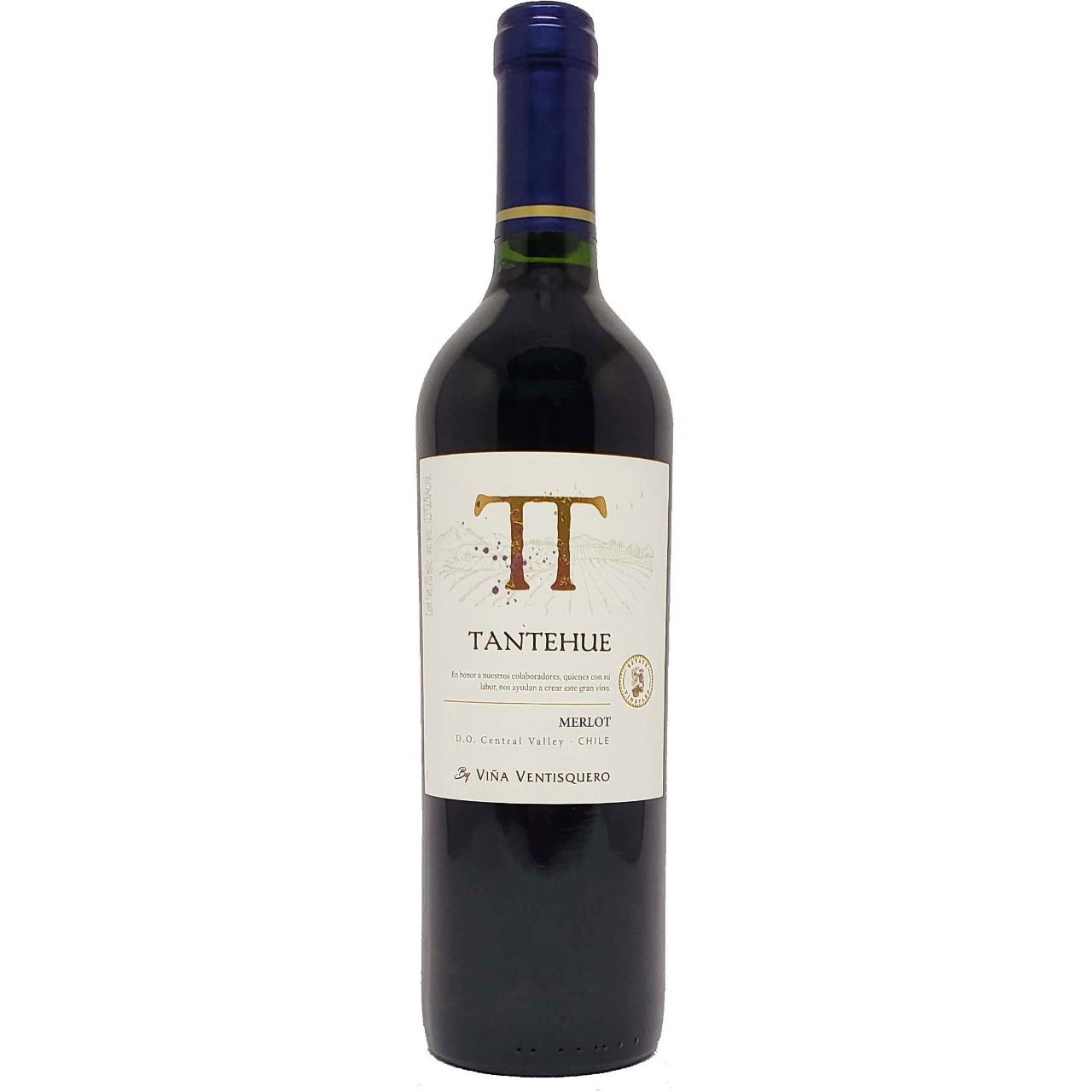 Vinho Tinto Tantehue Merlot - 750ml -