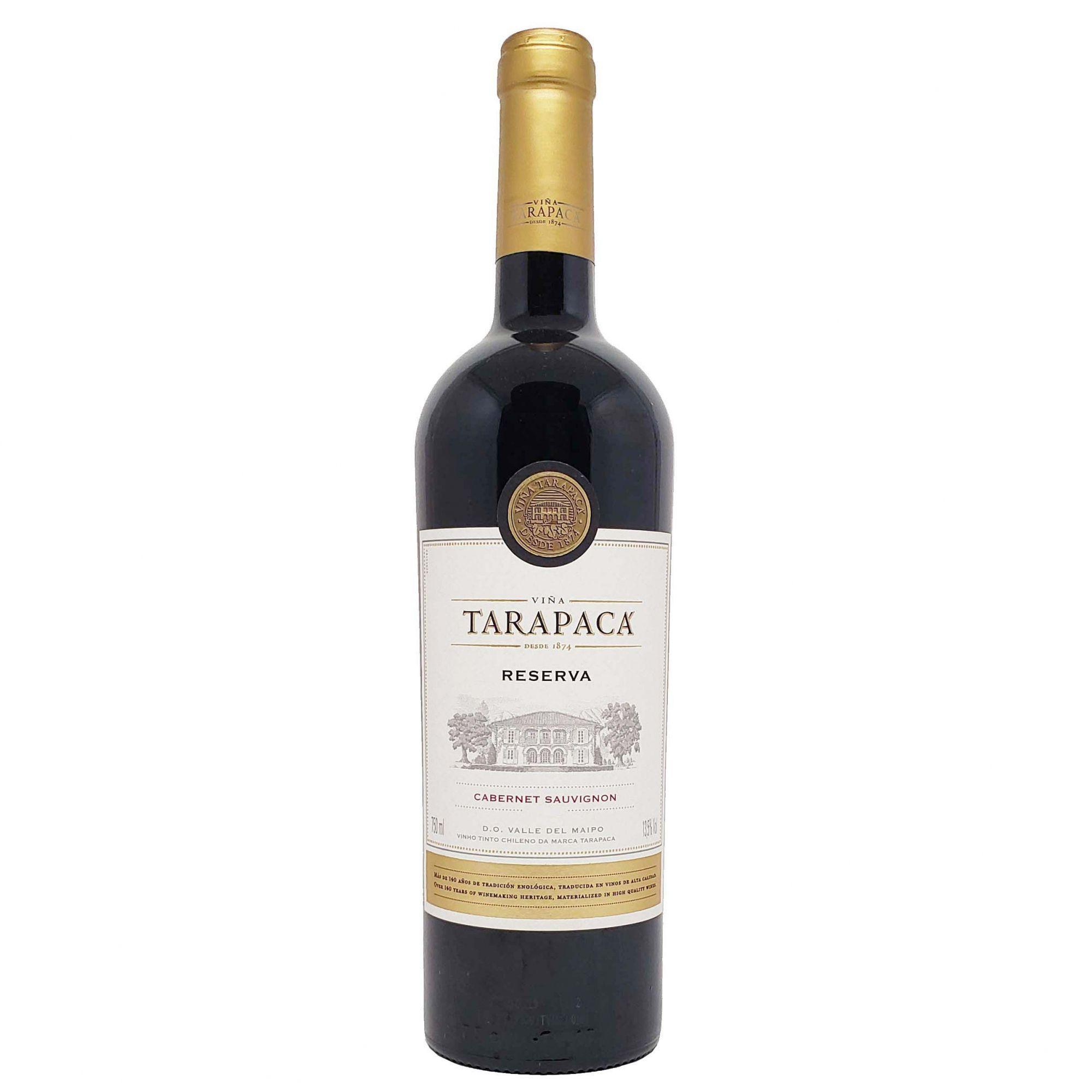 Vinho Tinto Tarapacá Reserva Cabernet Sauvignon - 750ml -