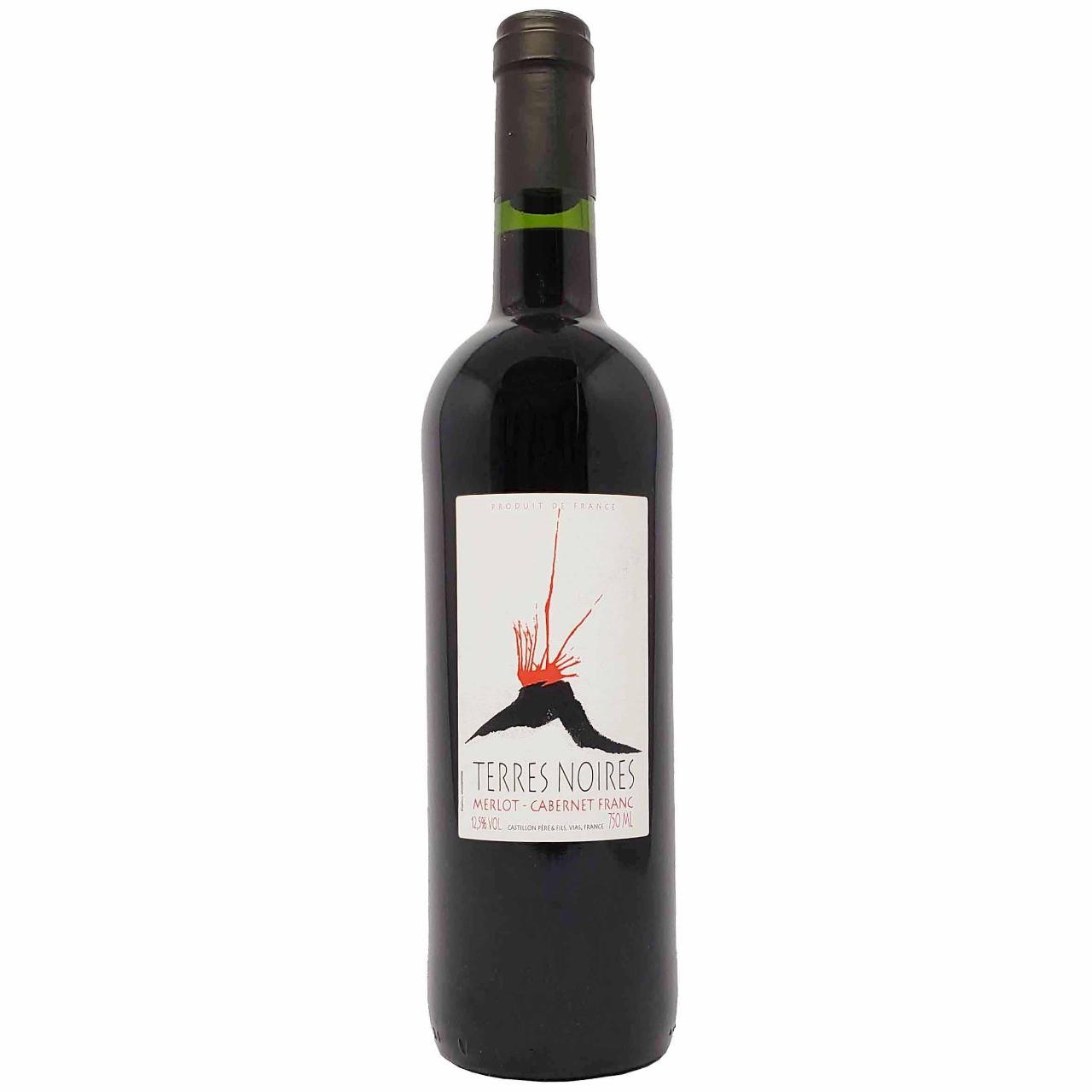 Vinho Tinto Terres Noires Merlot Cabernet Franc - 750ml -