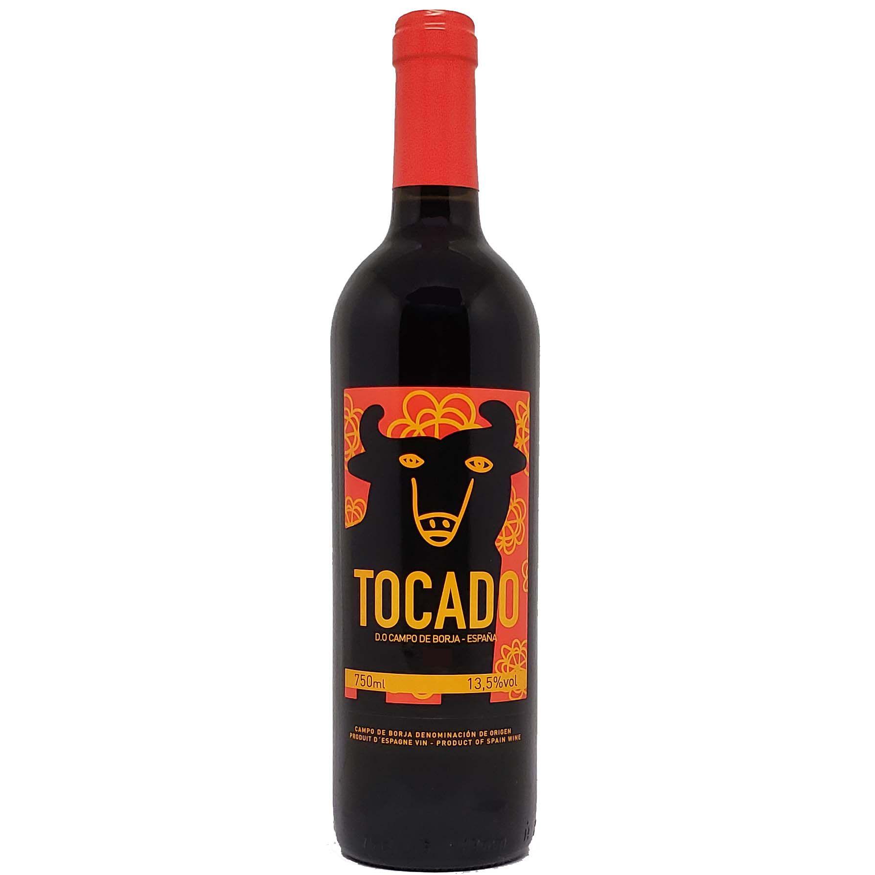 Vinho Tinto Tocado D.O Campo de Borja - 750ml -
