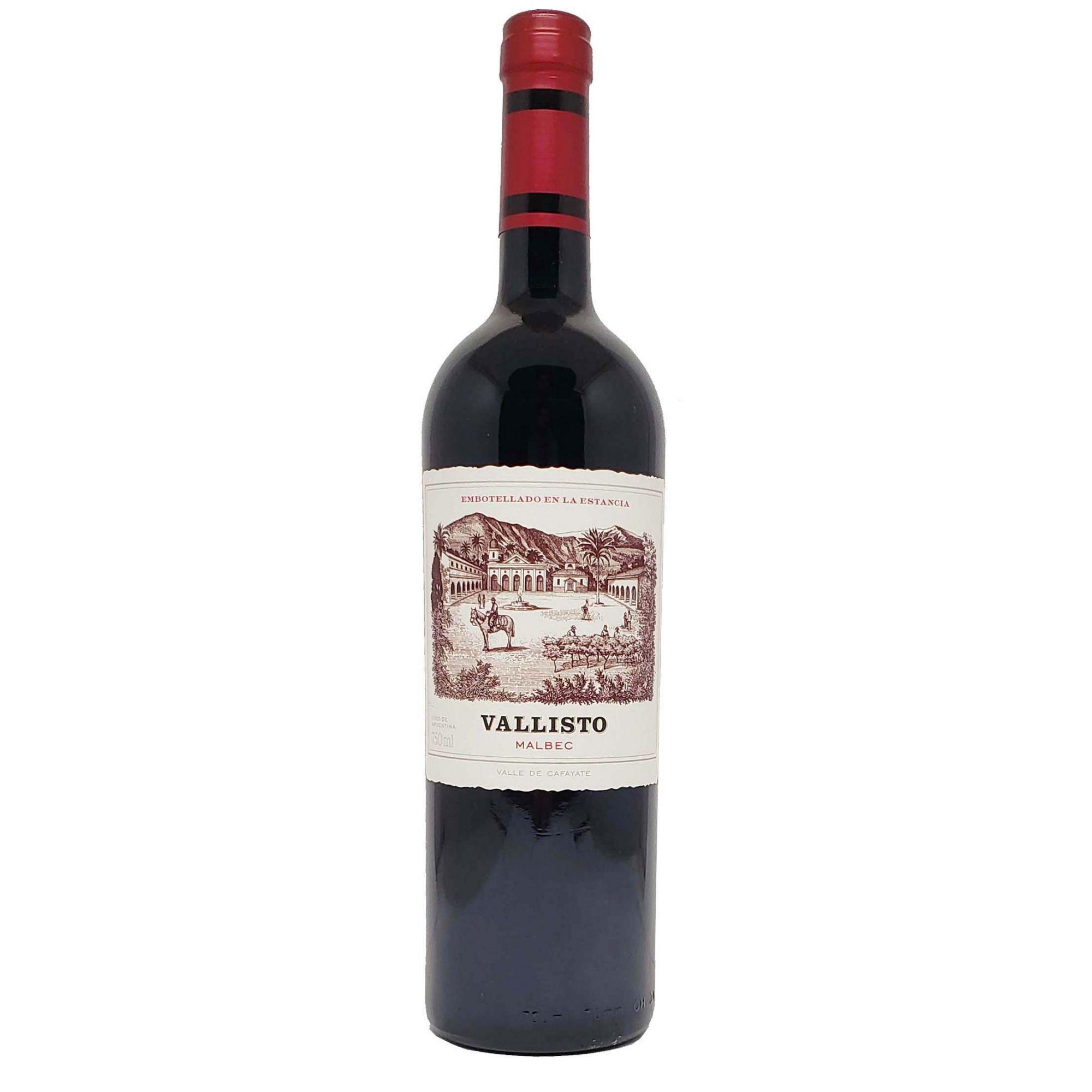Vinho Tinto Vallisto Malbec - 750ml -