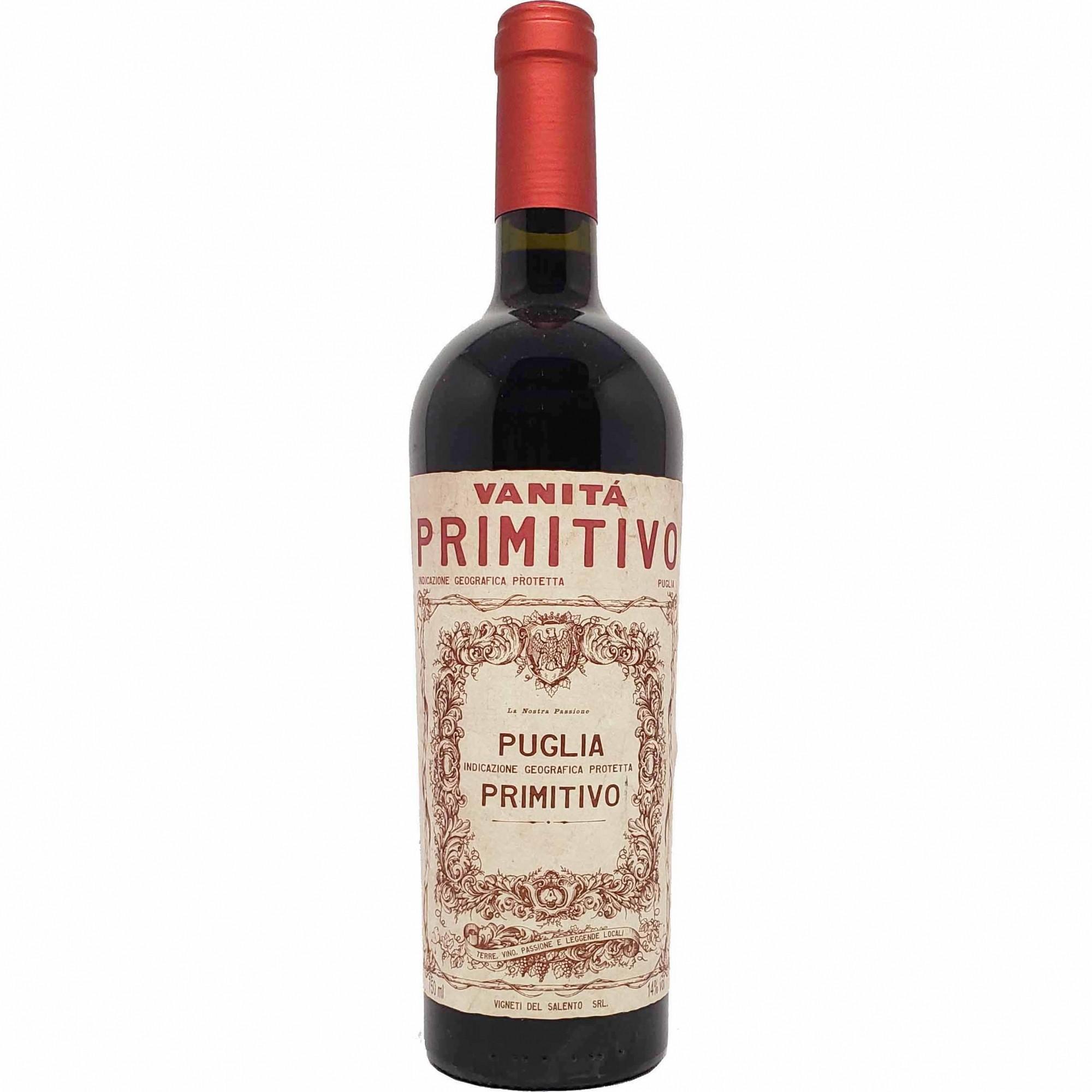 Vinho Tinto Vanitá Primitivo Puglia - 750ml -