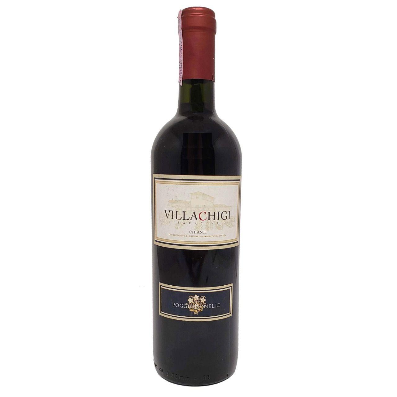Vinho Tinto Villachigi DOCG Chianti Poggio Bonelli - 750ml -