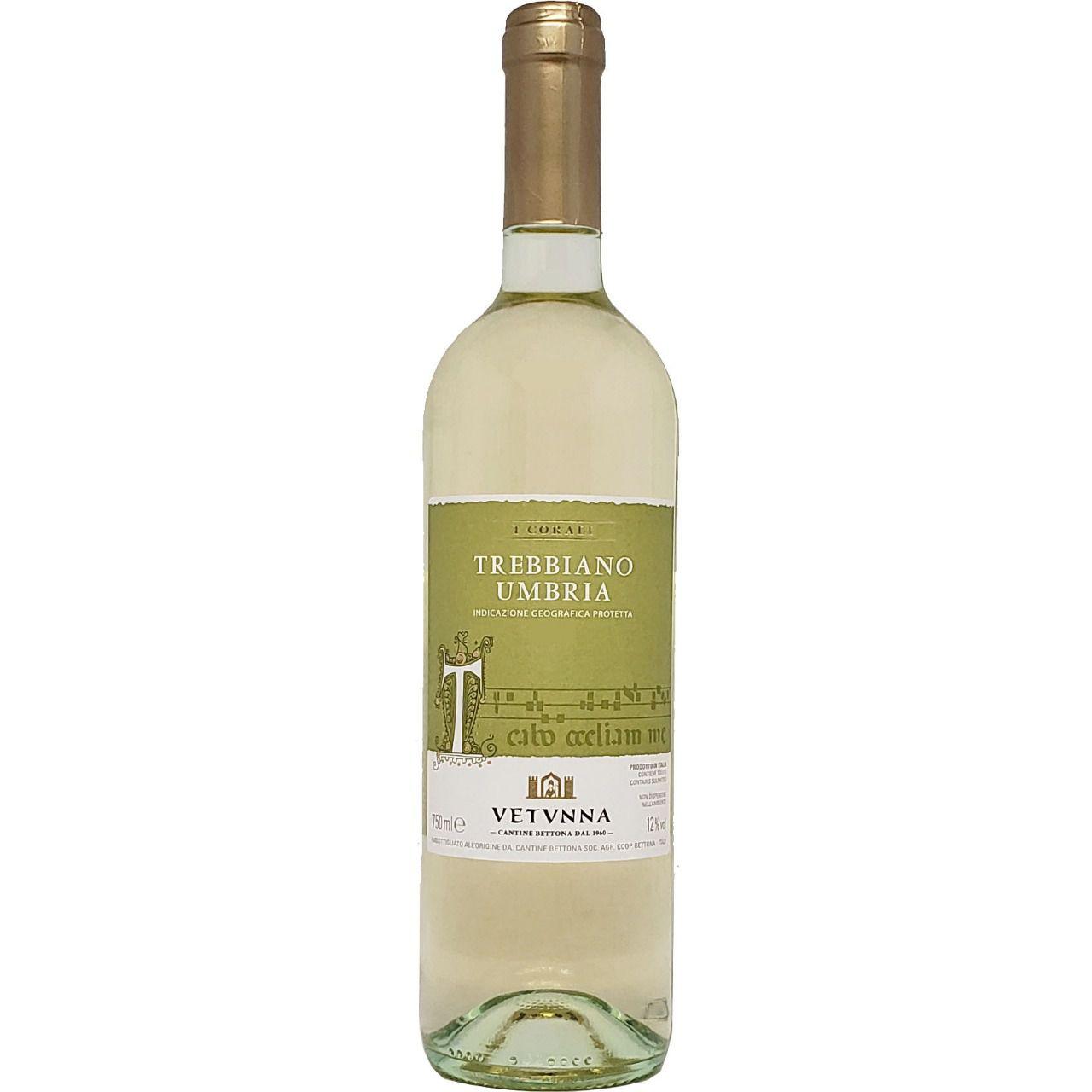 Vinho Branco Trebbiano Umbria Vetvnna - 750ml -